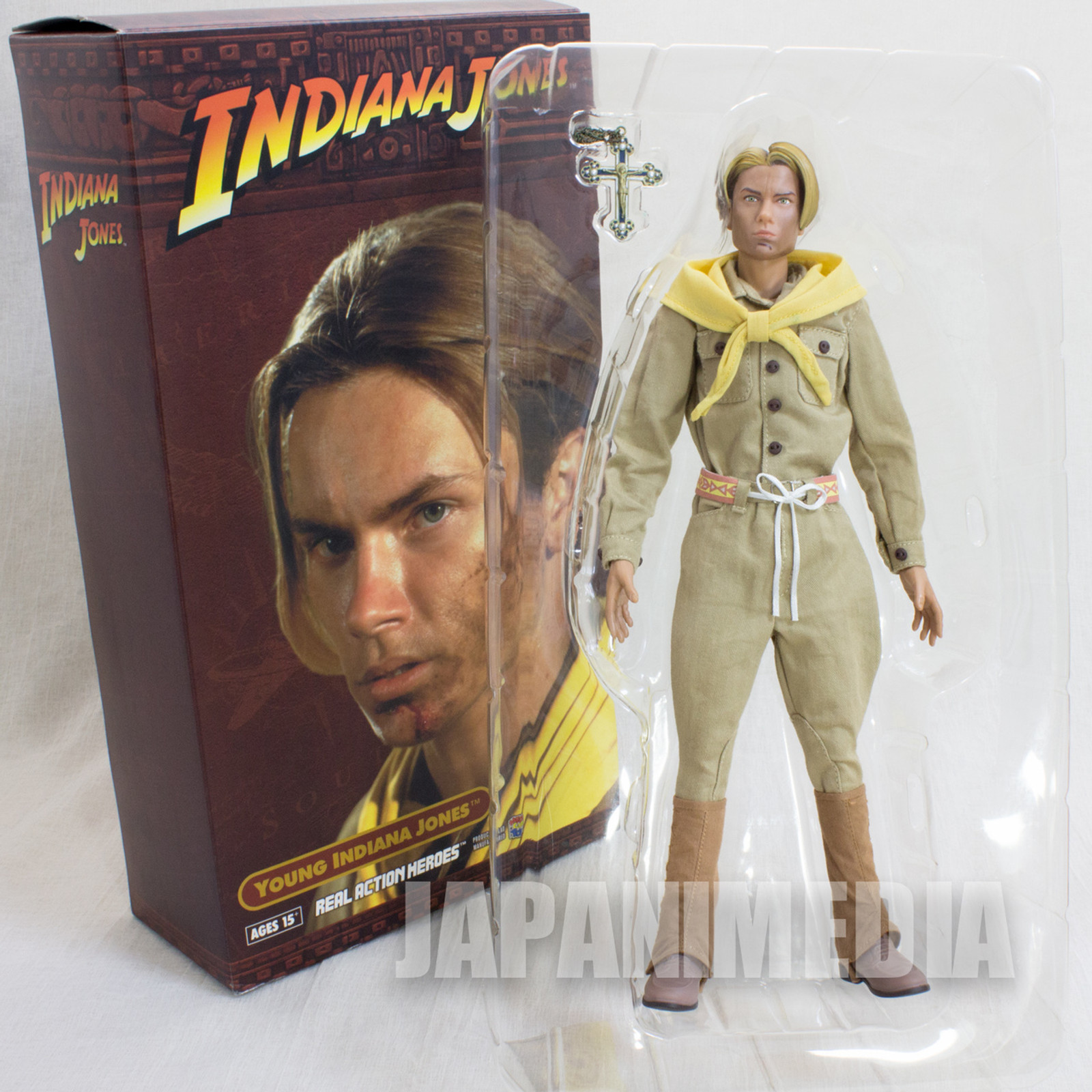 Young Indiana Jones River Jude Phoenix Real Action Heroes RAH Figure Medicom Toy