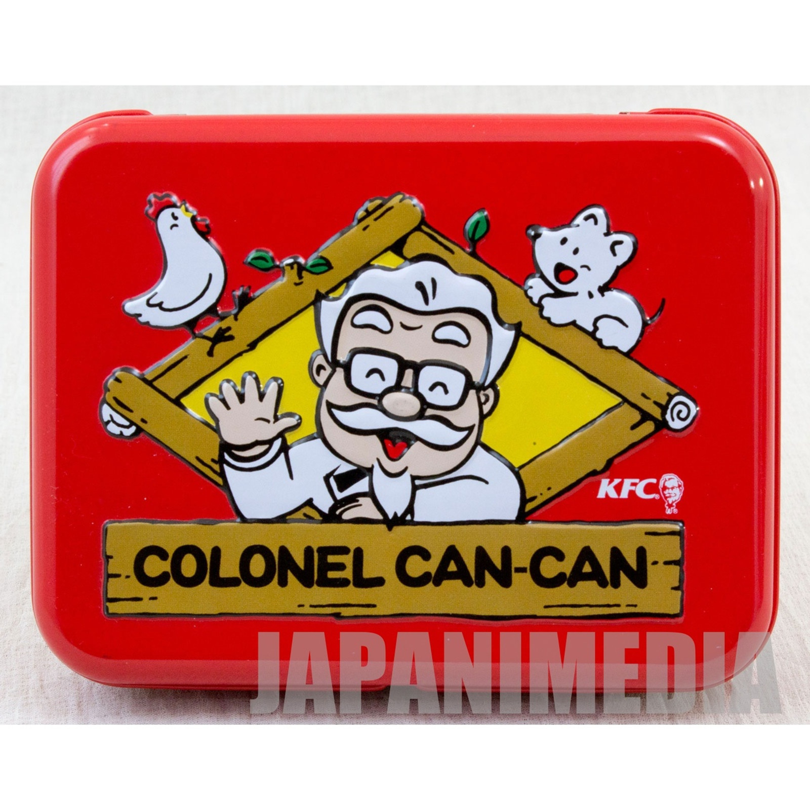 KFC COLONEL CAN CAN Colonel Sanders Can Case 2012 JAPAN