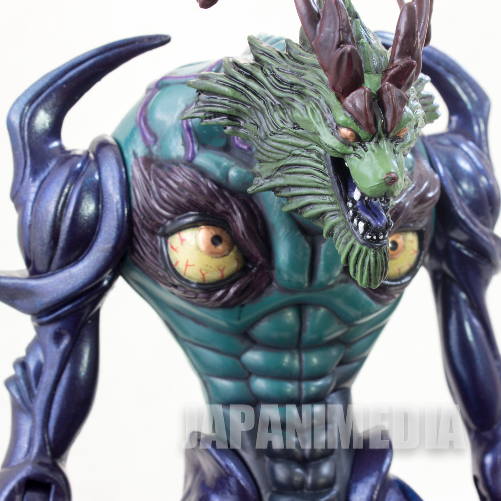Devilman ZANNIN Action Figure Green/Purple Ver. Fewture JAPAN ANIME MANGA 2