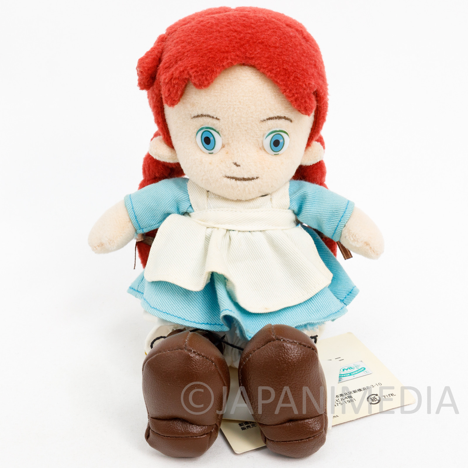 """Anne of Green Gables Plush Doll 5"""" Akage no An Japanese Animation JAPAN ANIME"""