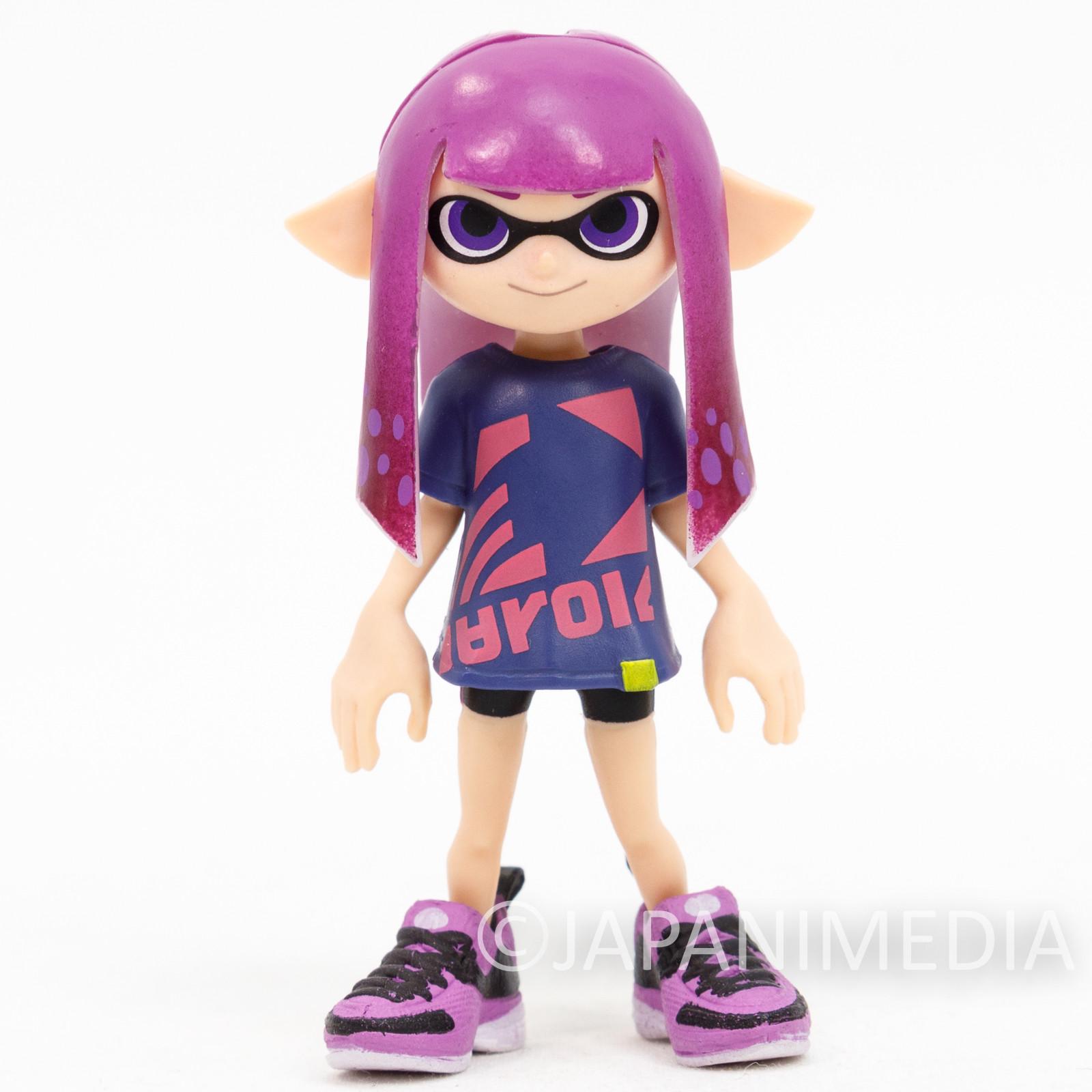 Splatoon 2 Dress-up Figure Gear Collection Squid GIRL 3 JAPAN Nintendo Switch