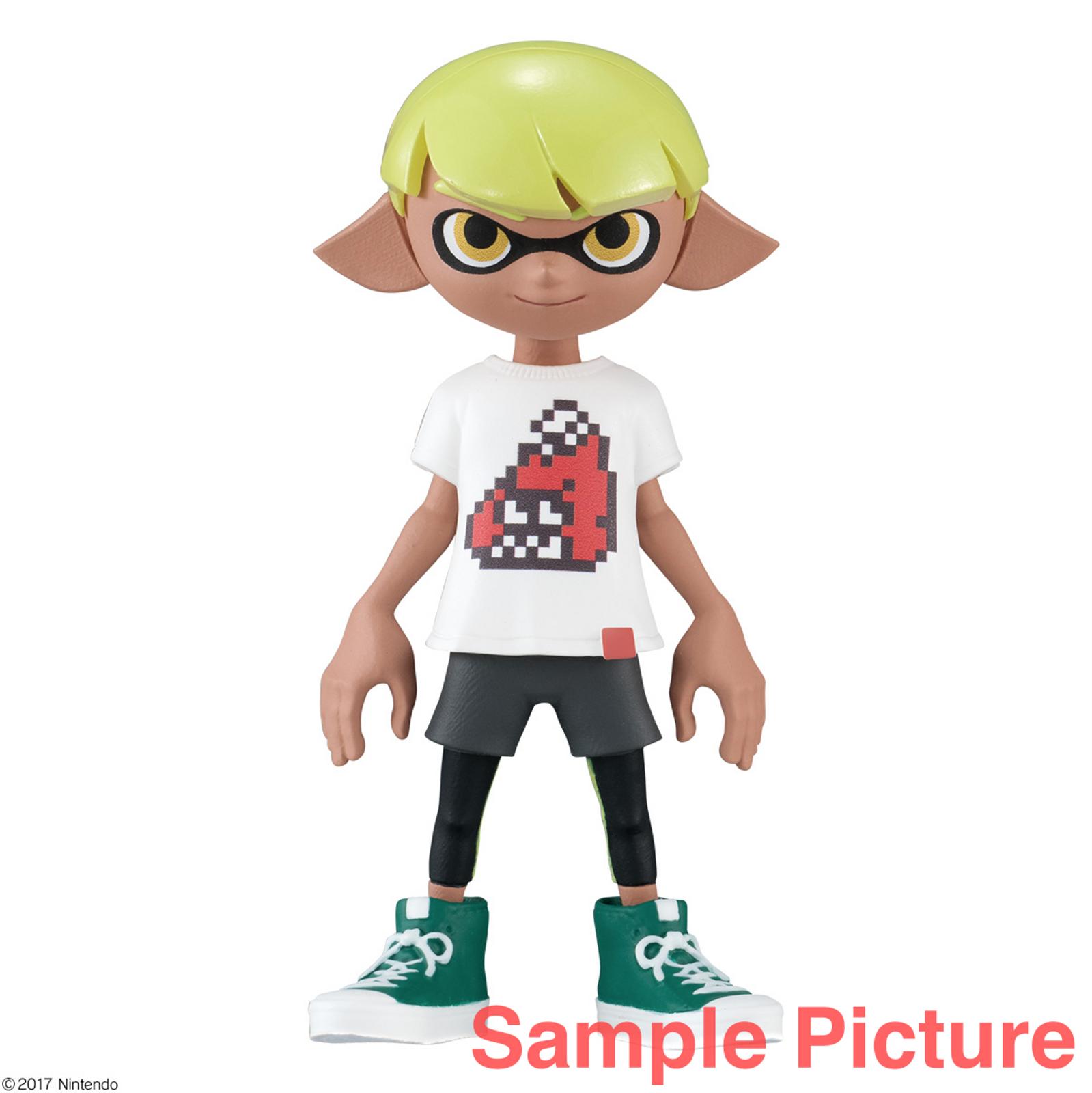 Splatoon 2 Dress-up Figure Gear Collection Squid BOY 3 JAPAN Nintendo Switch