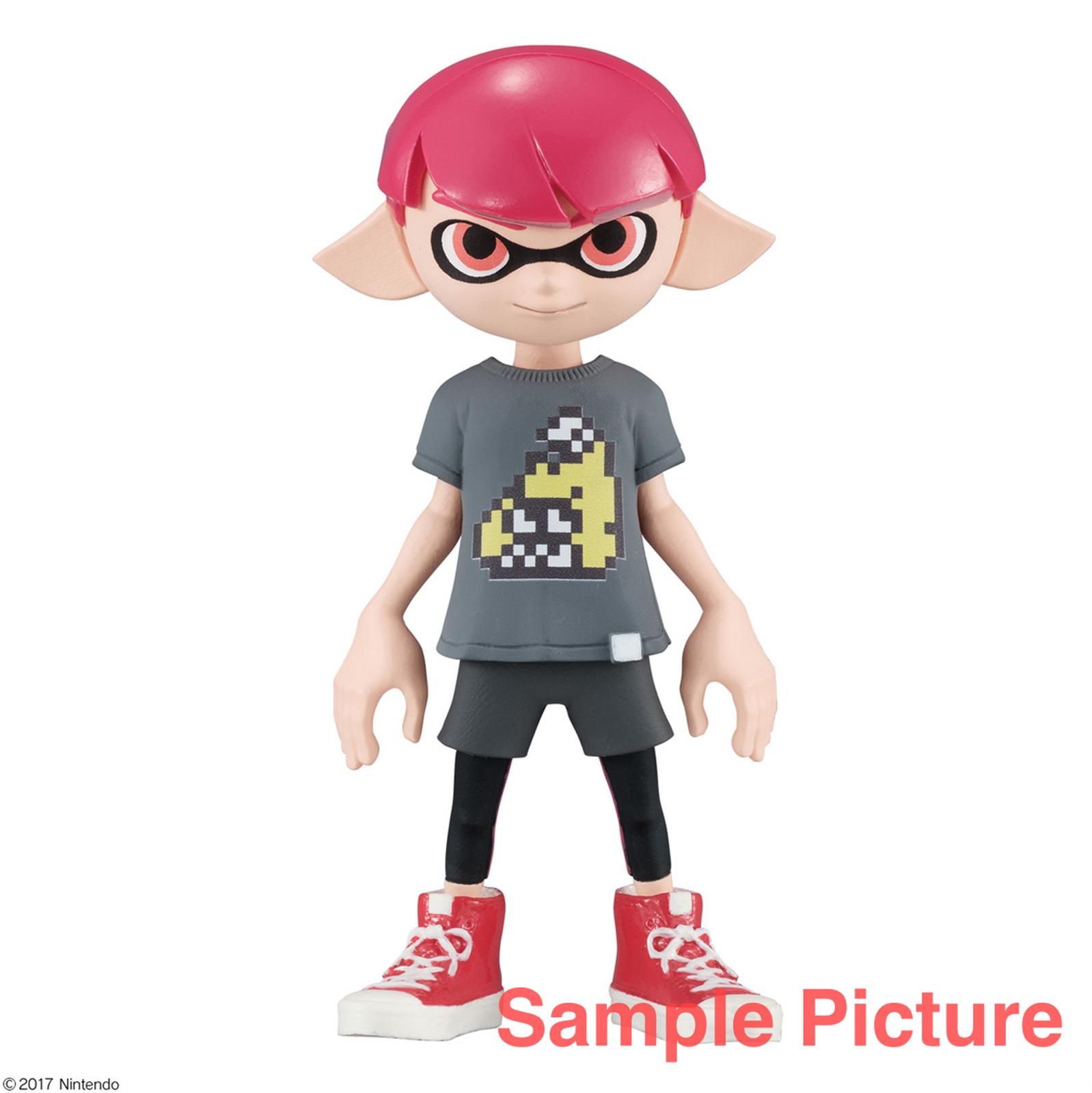 Splatoon 2 Dress-up Figure Gear Collection Squid BOY 4 JAPAN Nintendo Switch