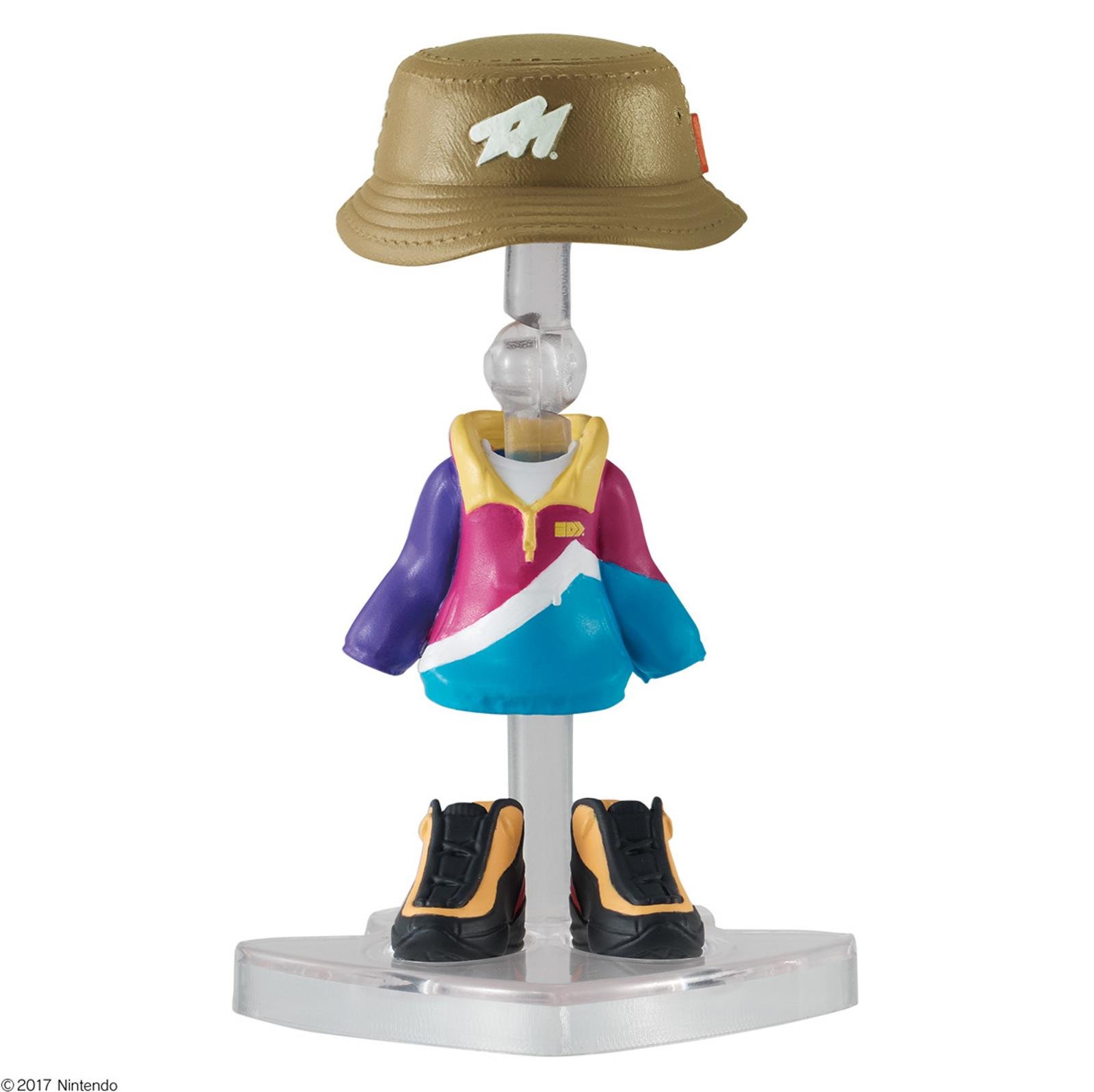 Splatoon 2 Dress-up Figure Gear Collection 2 GEAR Set #11 JAPAN Nintendo Switch