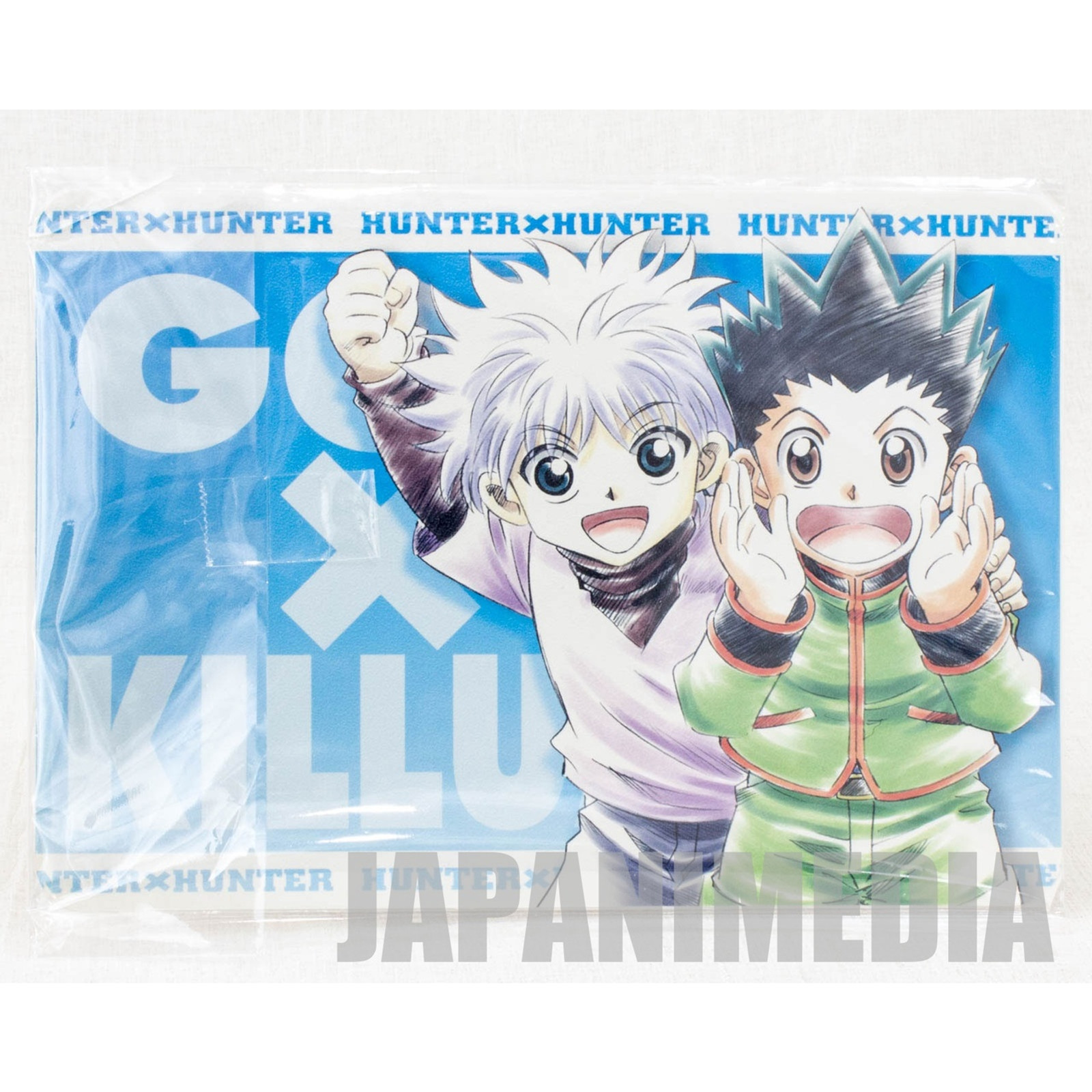 Hunter x Hunter Gon & Killua Jumbo Card Paddass BANDAI JAPAN ANIME MANGA