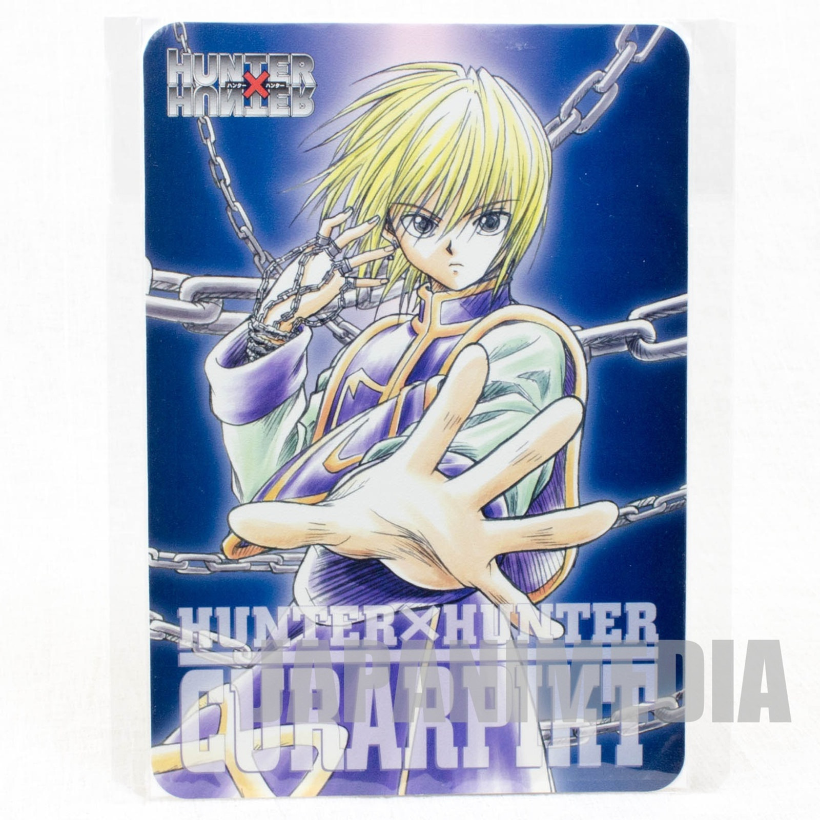 Hunter x Hunter Kurapika Jumbo Card Paddass BANDAI JAPAN ANIME MANGA #1