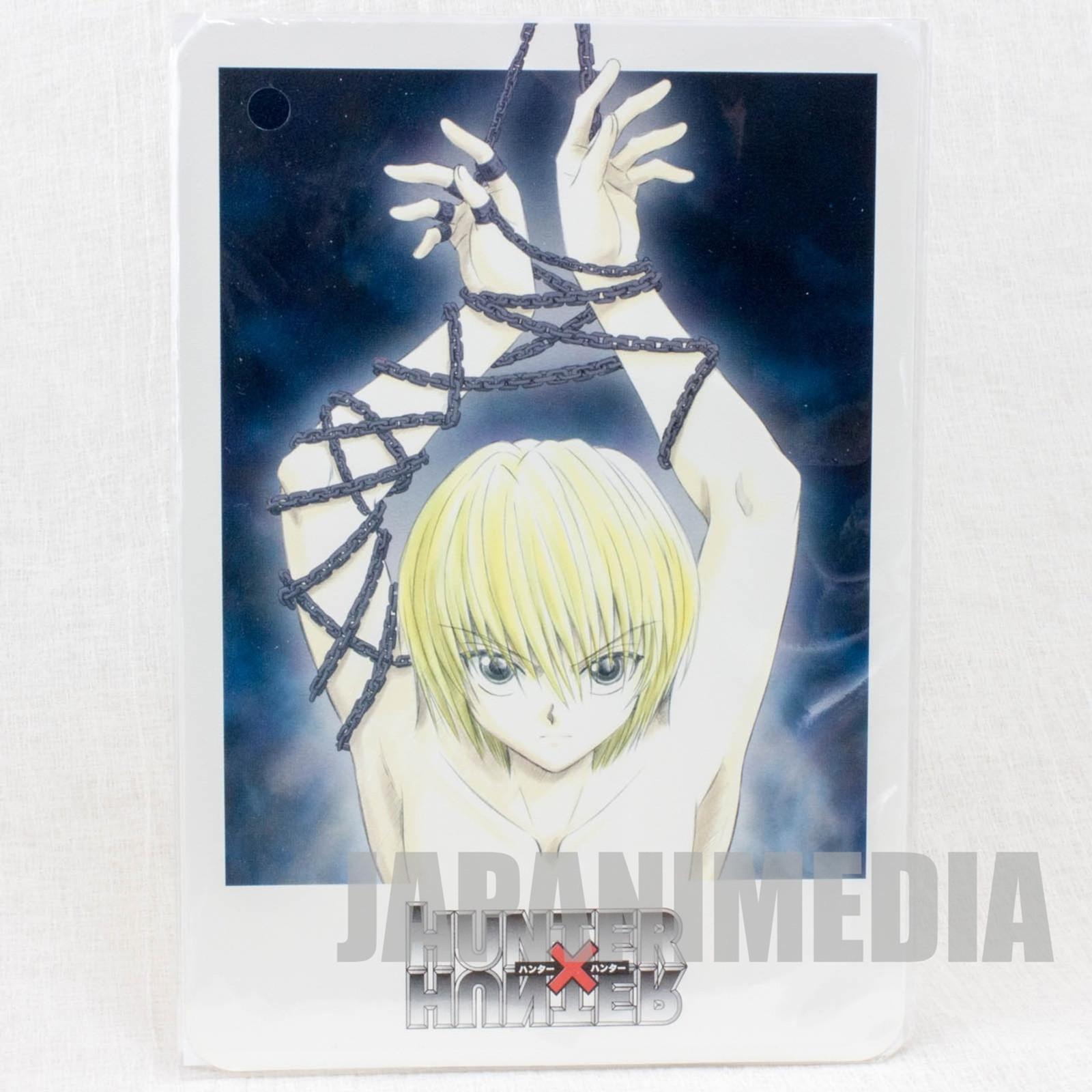 Hunter x Hunter Kurapika Jumbo Card Paddass BANDAI JAPAN ANIME MANGA #2