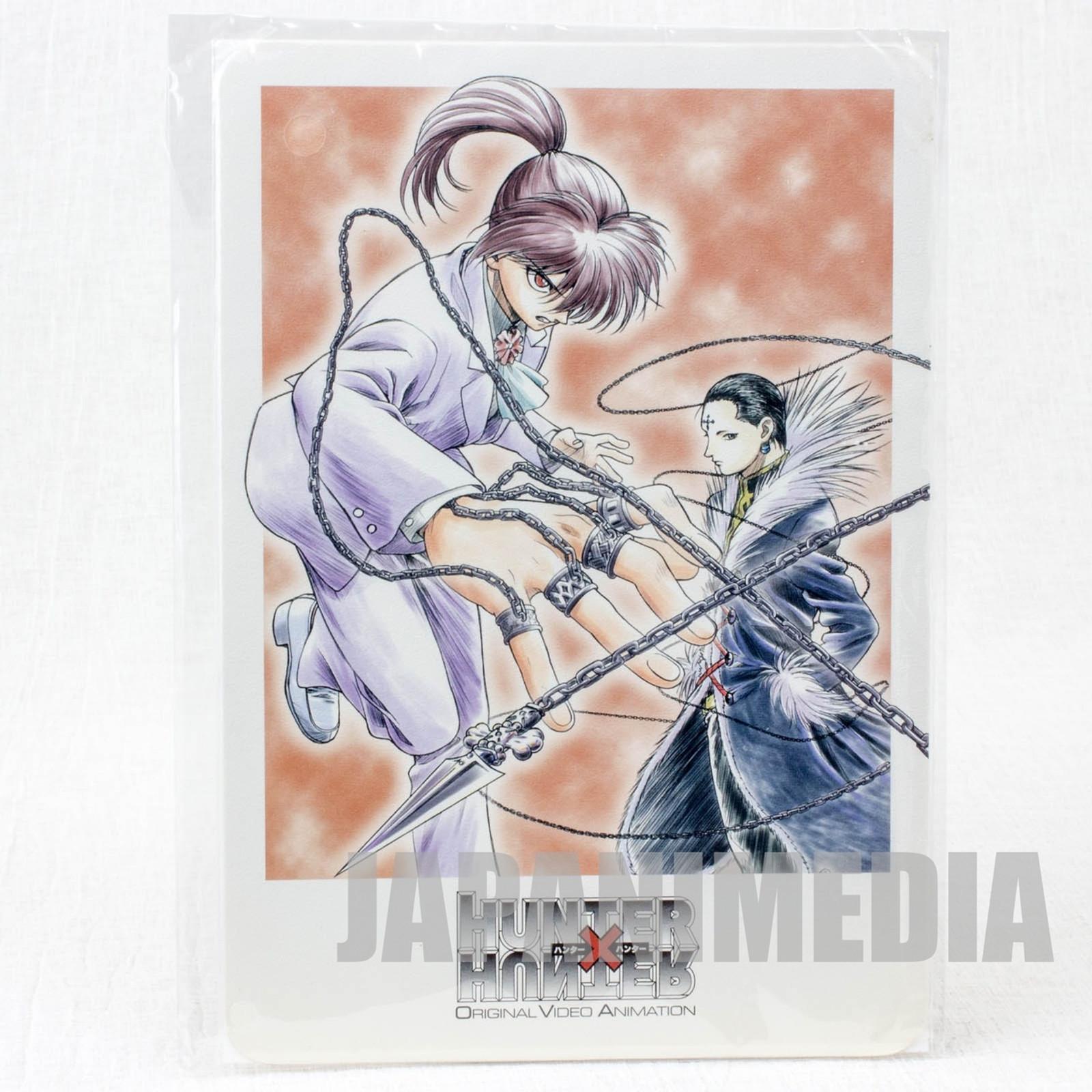 Hunter x Hunter Kurapika & Chrollo Jumbo Card Paddass BANDAI JAPAN ANIME MANGA