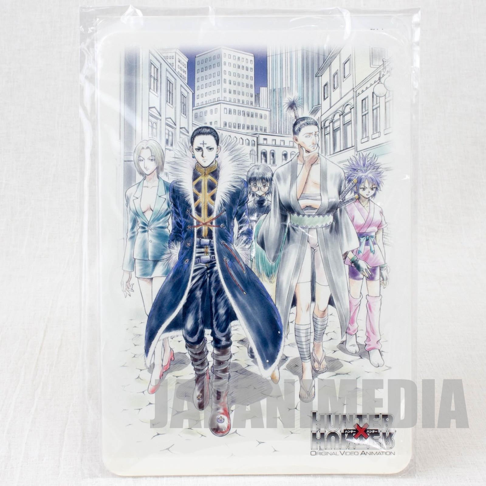 Hunter x Hunter Phantom Troupe Jumbo Card Paddass BANDAI JAPAN ANIME MANGA