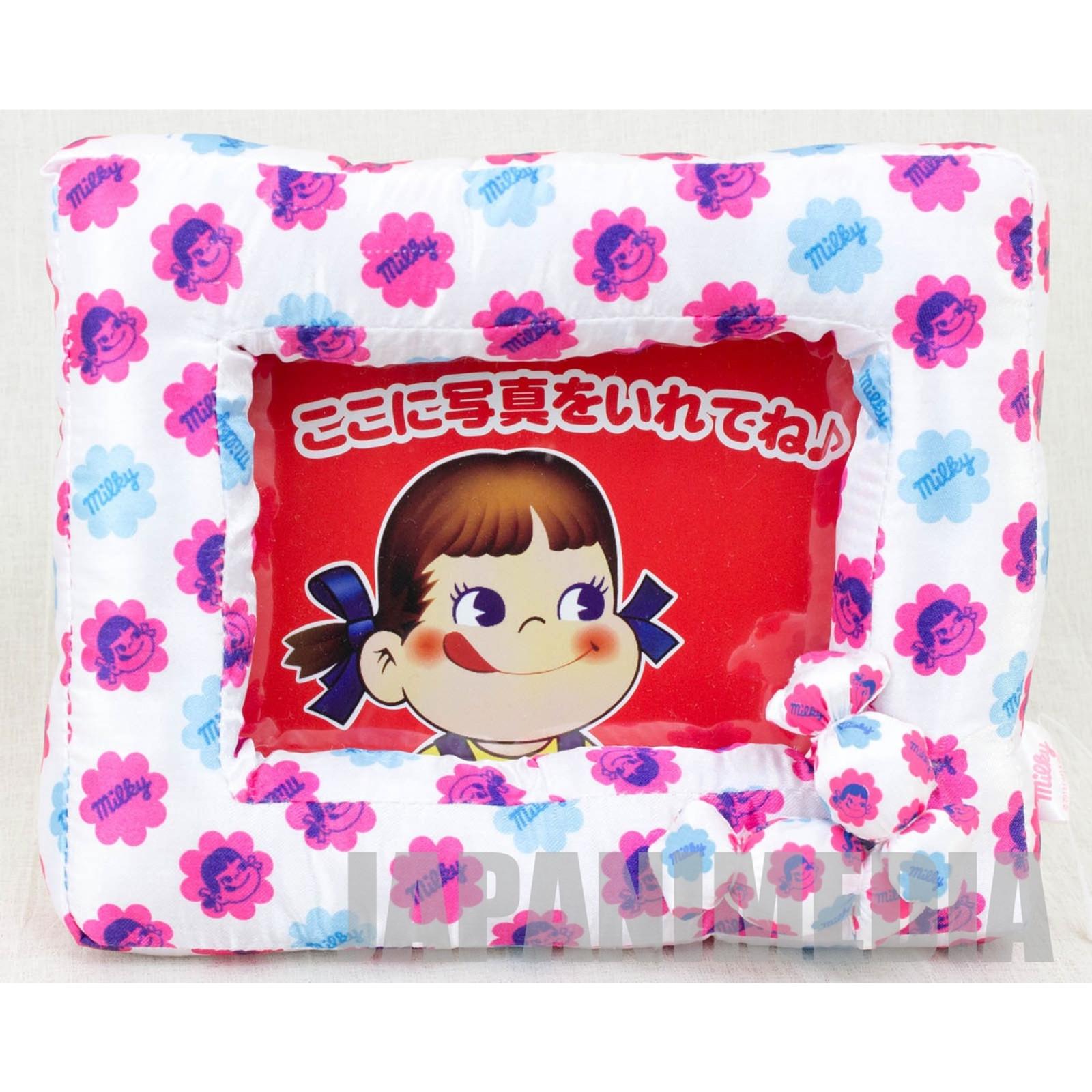 Milky Candy Peko-chan Cushion Picture Frame FUJIYA JAPAN