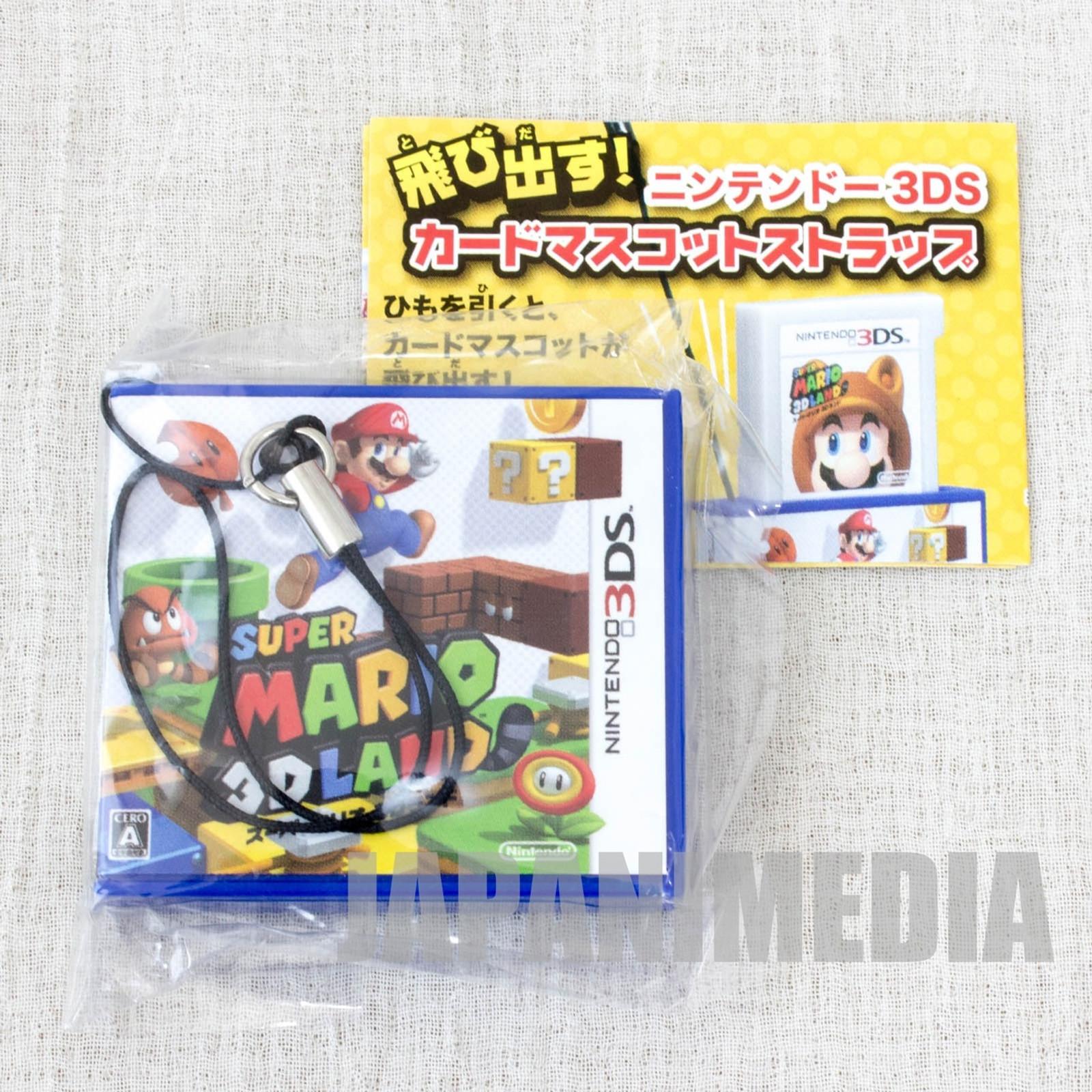Super Mario 3D LAND Card Mascot Strap NINTENDO DS Epoch JAPAN GAME