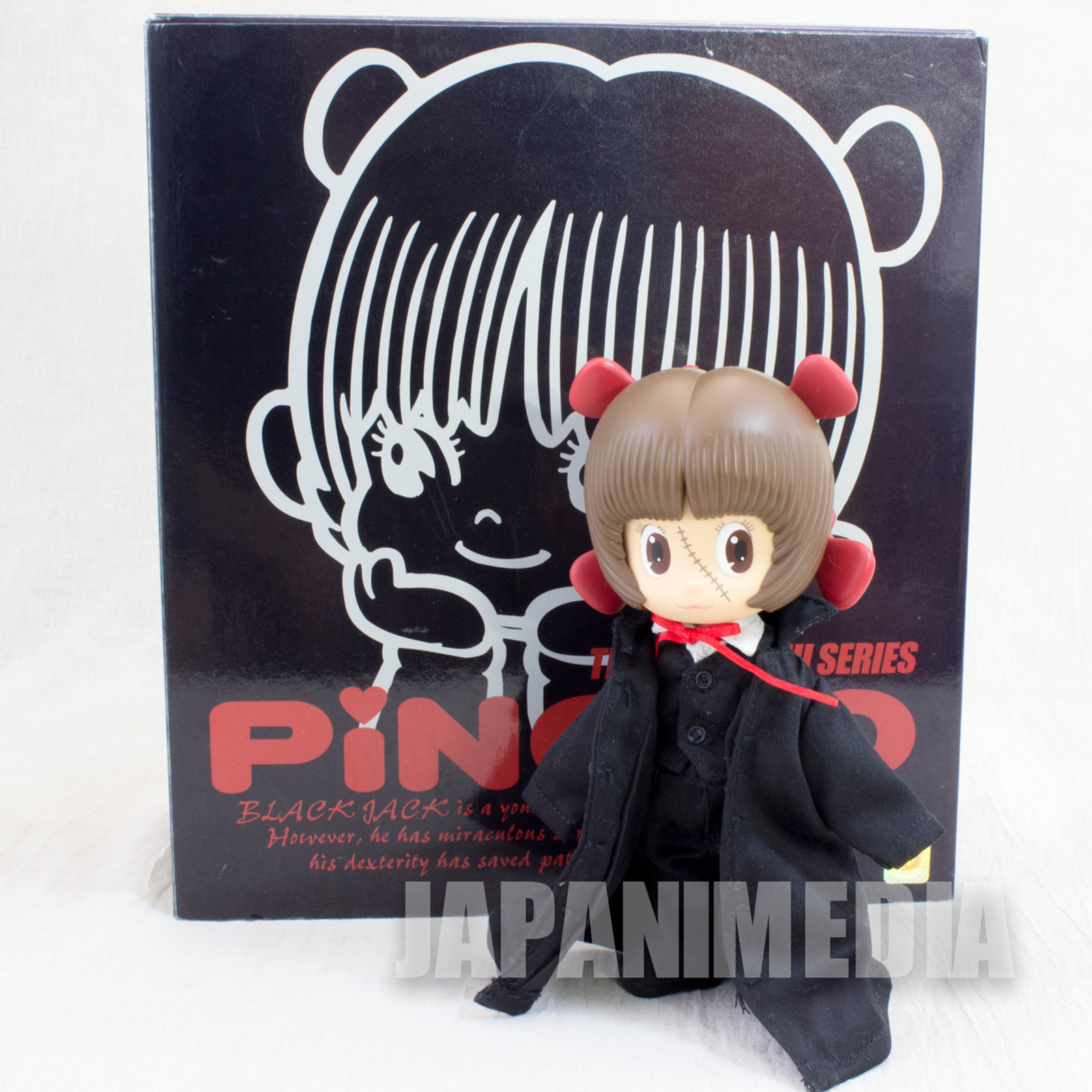 Black Jack Pinoko Action Figure BJ Cloth Cosplay Tezuka Osamu JAPAN ANIME