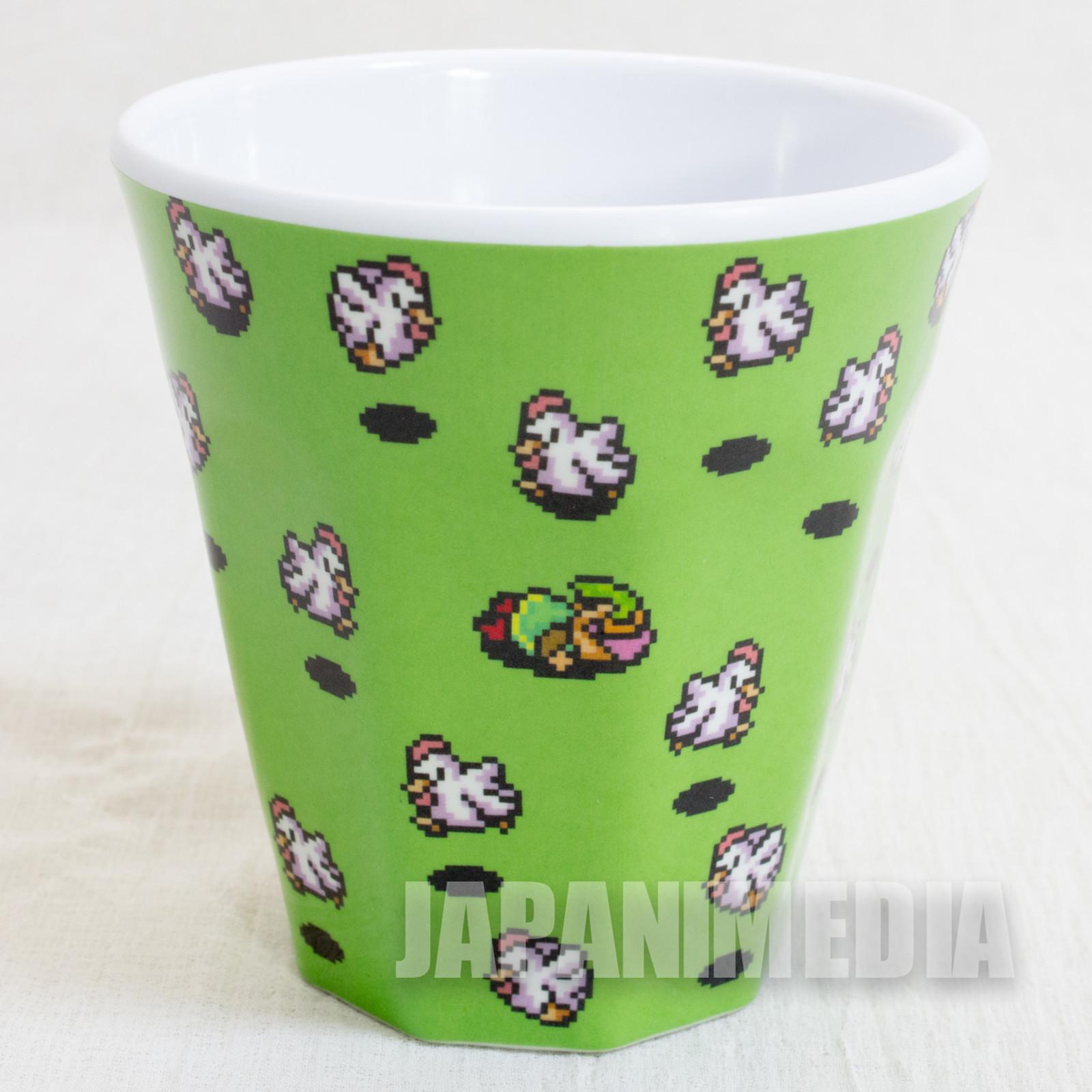 The Legend of Zelda Cucco Green Melamine Cup Nintendo JAPAN GAME