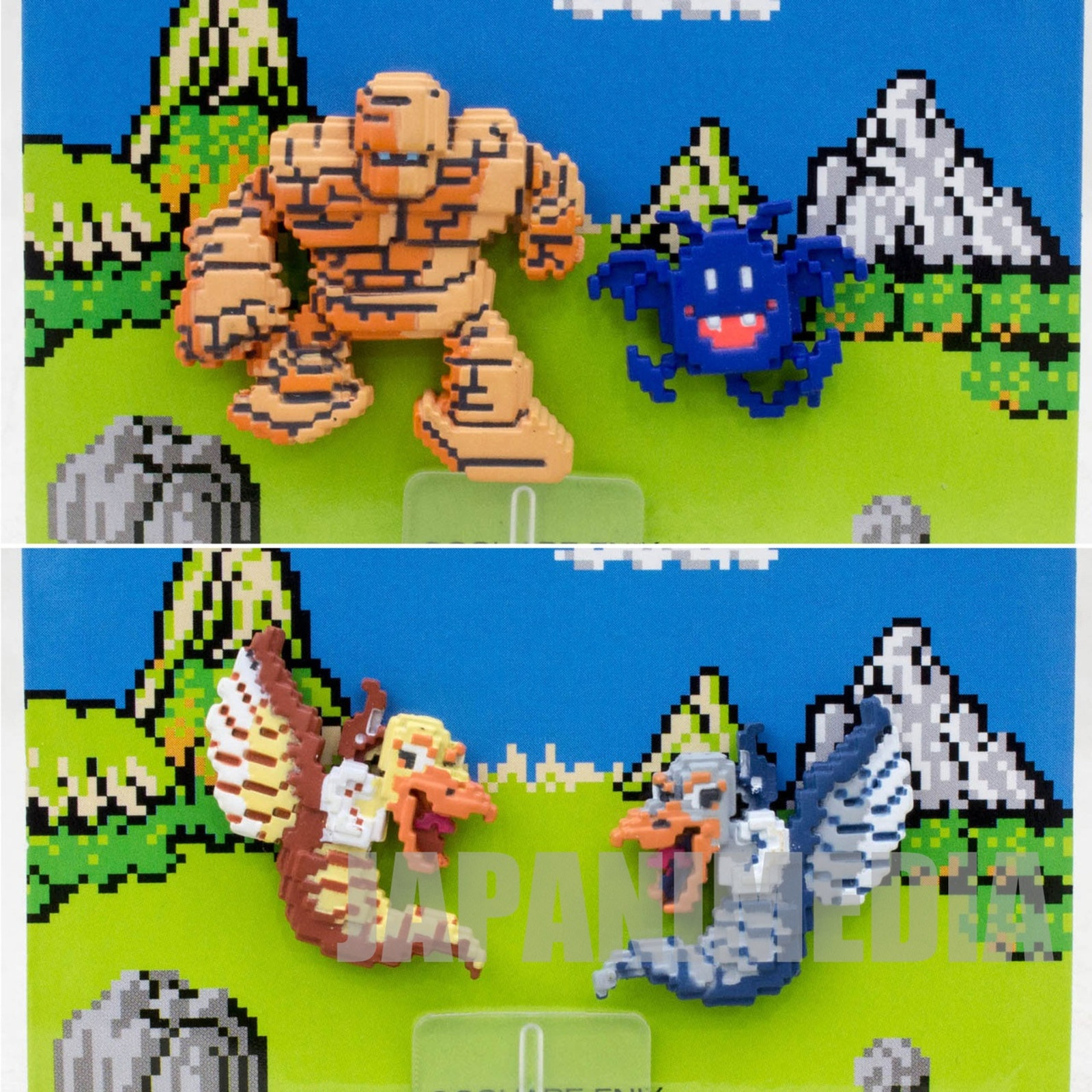Dragon Quest Dot Monster Magnets Diorama Mini Figure Square Enix JAPAN GAME