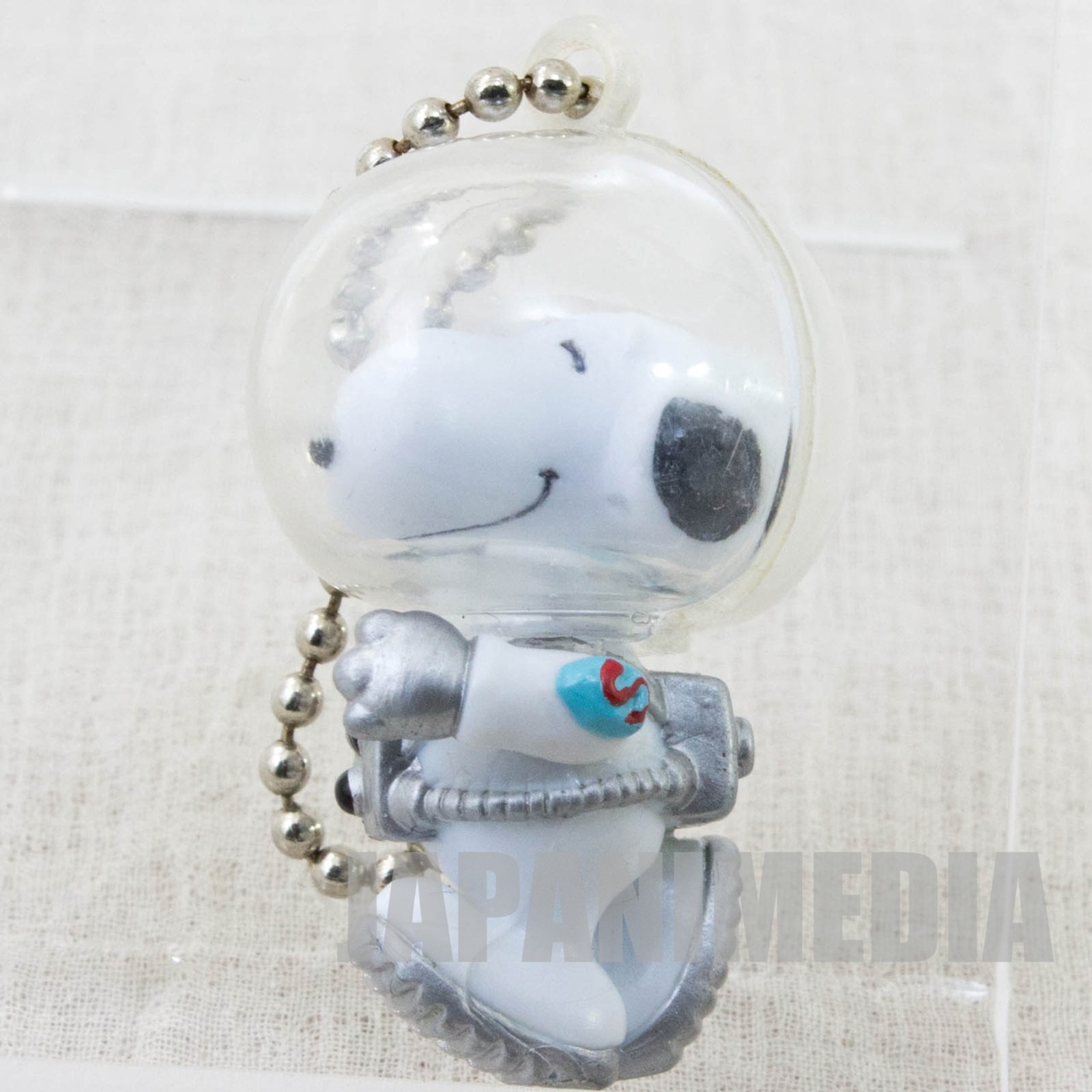Snoopy Astronauts Figure Ball Key Chain Toy Figure JAPAN PEANUTS #1