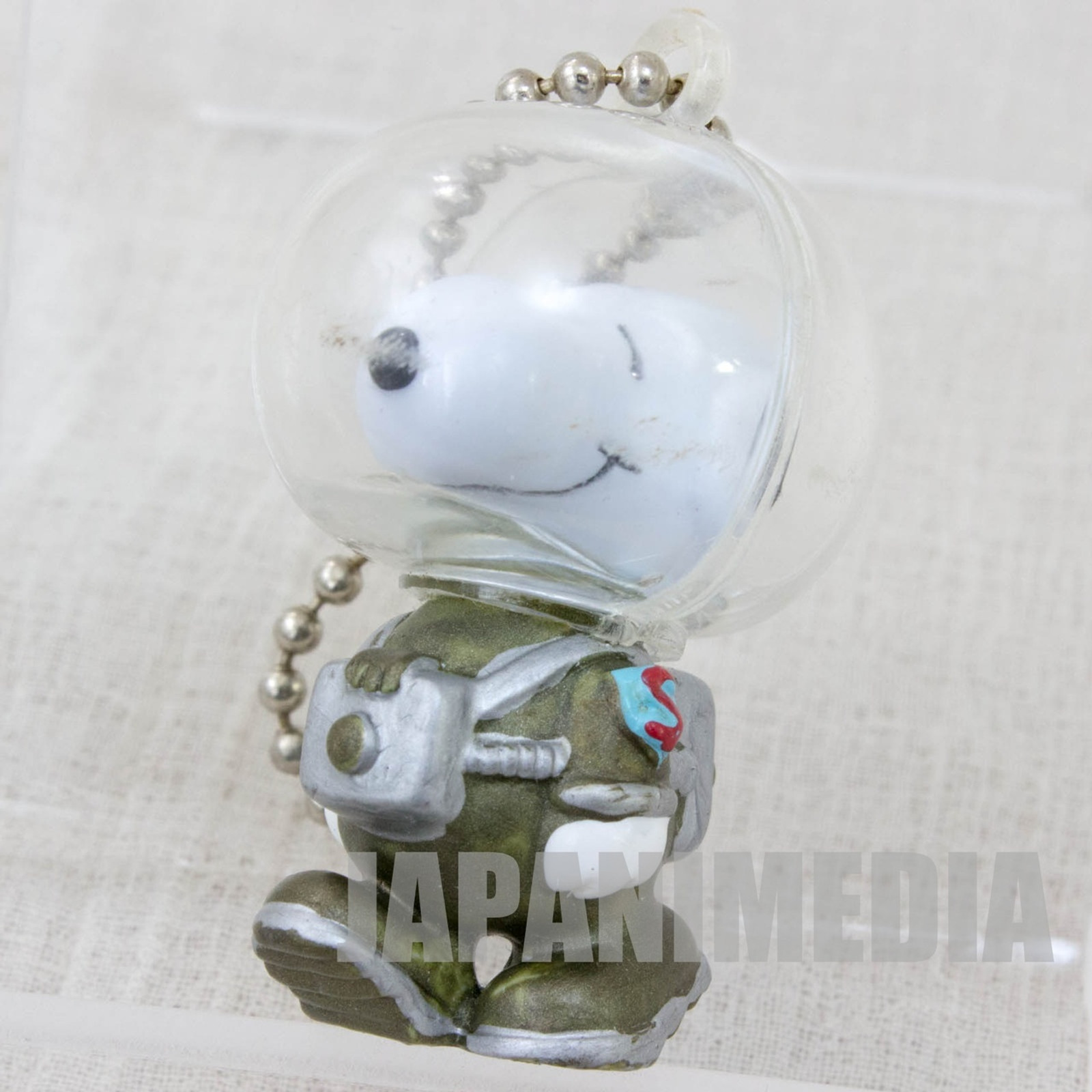 Snoopy Astronauts Figure Ball Key Chain Toy Figure JAPAN PEANUTS #2