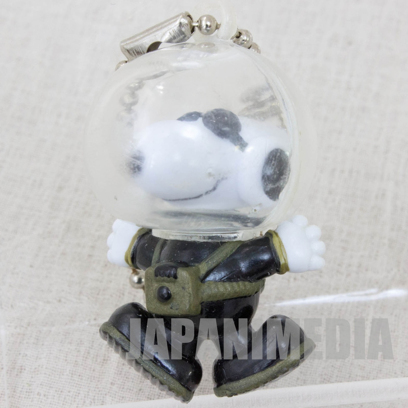 Snoopy Astronauts Figure Ball Key Chain Toy Figure JAPAN PEANUTS #3