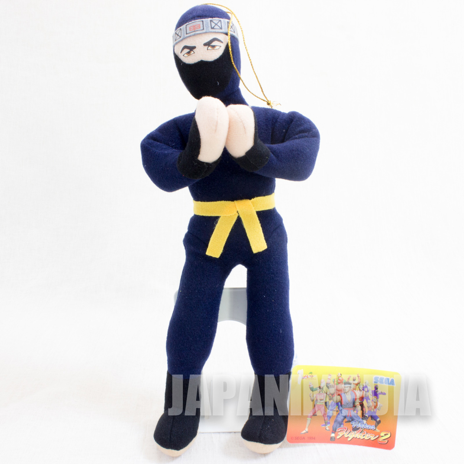 "Virtua Fighter 2 Kagemaru 10"" Plush Doll SEGA 1994 JAPAN GAME FIGURE"