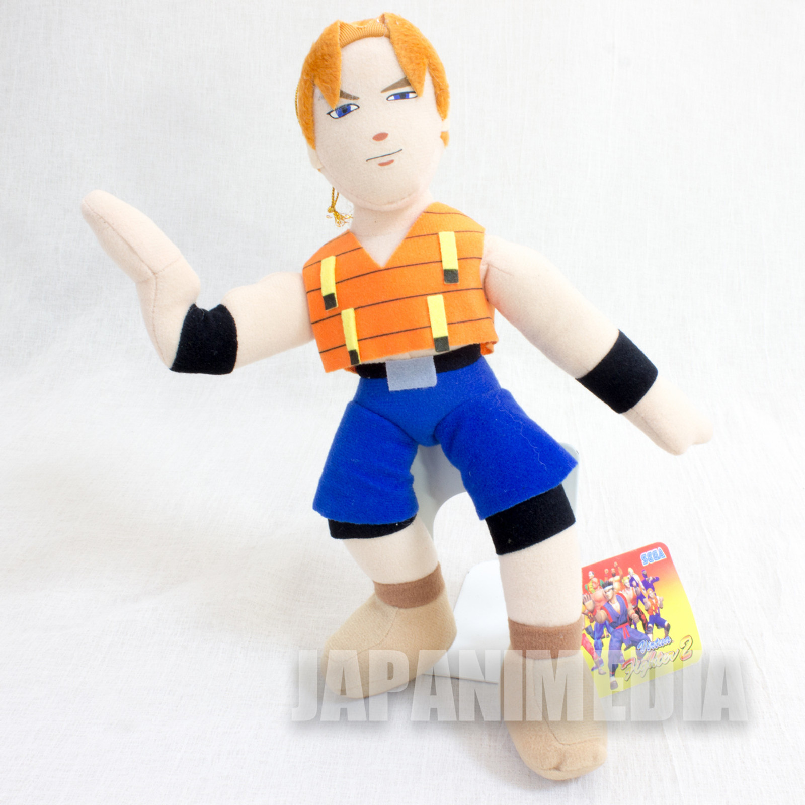 "Virtua Fighter 2 Lion Rafale 10"" Plush Doll SEGA 1994 JAPAN GAME FIGURE"