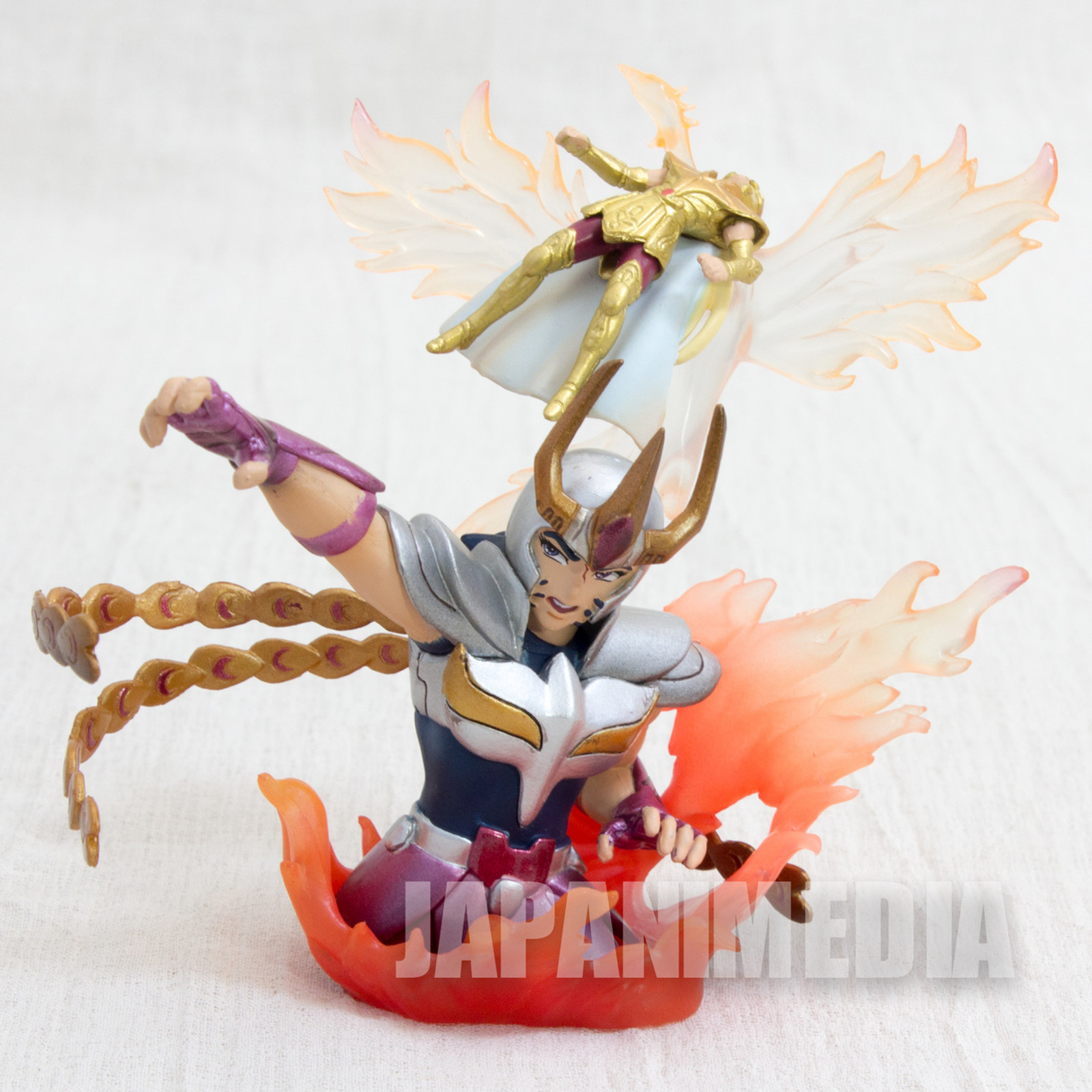 Saint Seiya Diorama Figure Phoenix Ikki VS Virgo Shaka Megahouse JAPAN