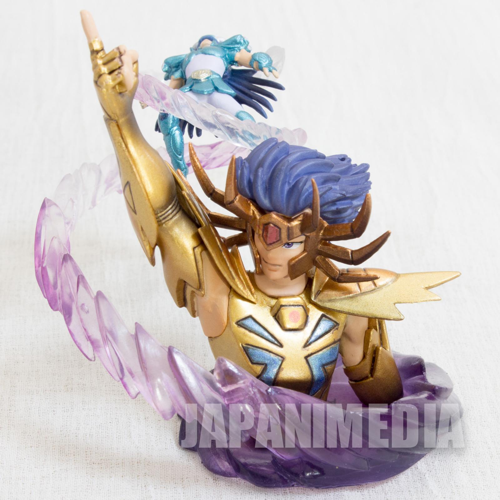 Saint Seiya Diorama Figure Cancer Deathmask VS Dragon Shiryu Megahouse JAPAN