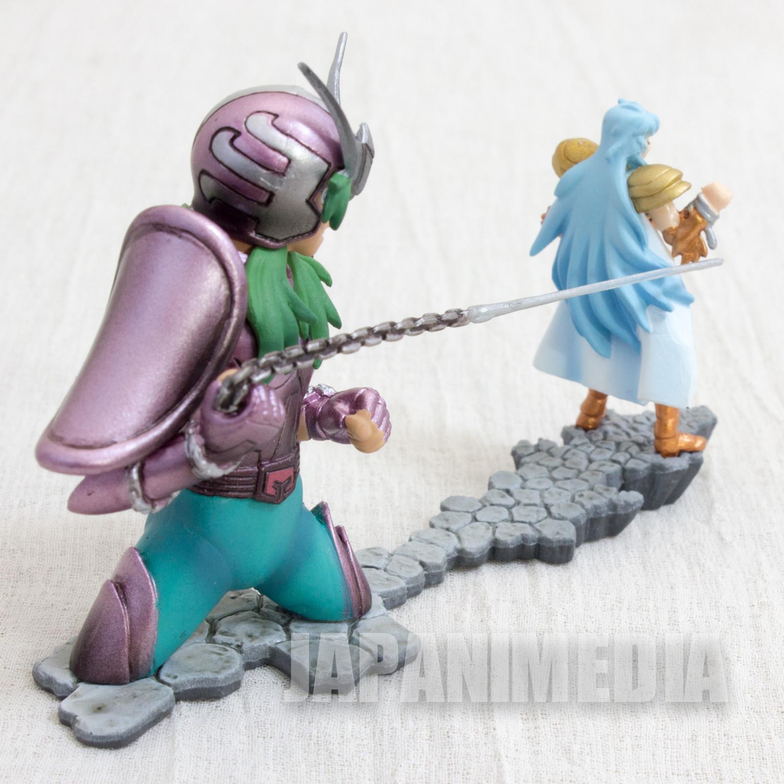 Saint Seiya Diorama Figure Andromeda Shun VS Pisces Aphrodite Megahouse JAPAN