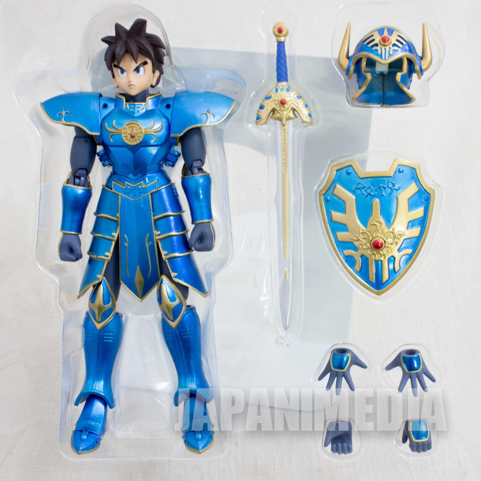 Dragon Quest Brave Roto Armor Sword Shield Legend Series Figure