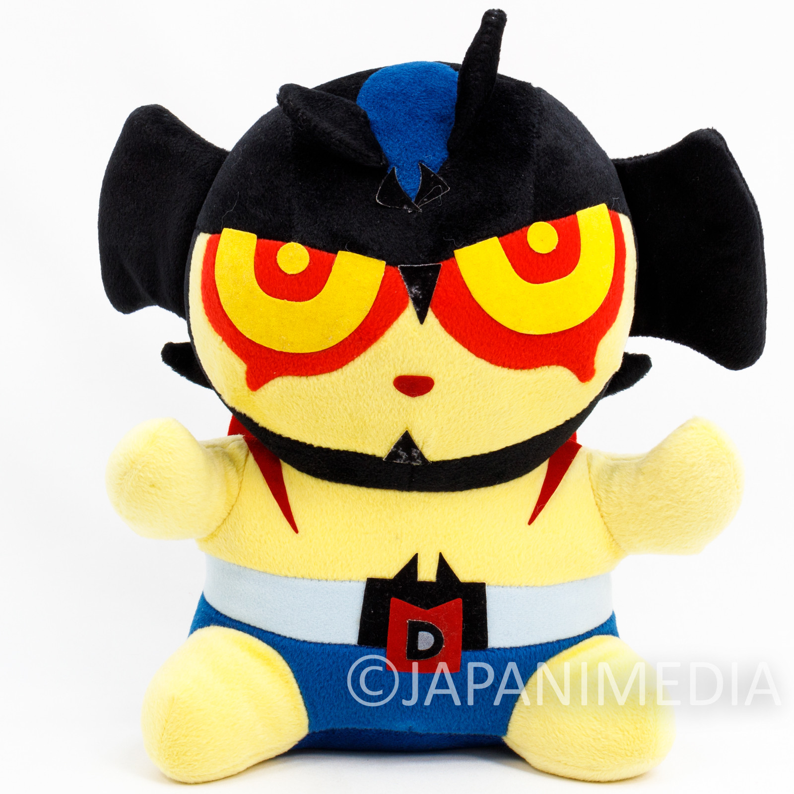"RARE Devilman Comics Ver. 12"" Plush Doll Nagai Go SK JAPAN ANIME MANGA"