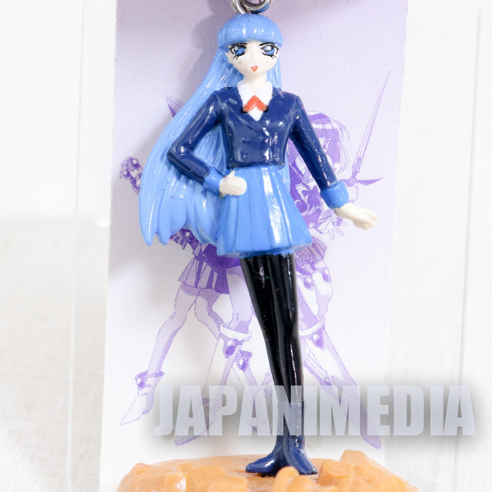 Magic Knight Rayearth Umi Ryuzaki Figure Keychain SEGA CLAMP JAPAN ANIME