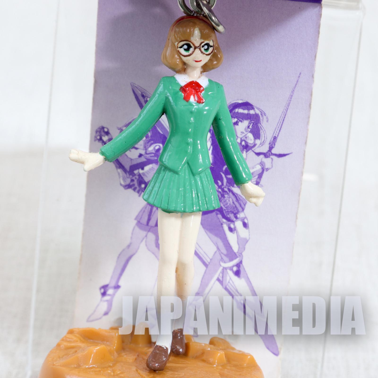 Magic Knight Rayearth Fuu Hououji Figure Keychain SEGA CLAMP JAPAN ANIME