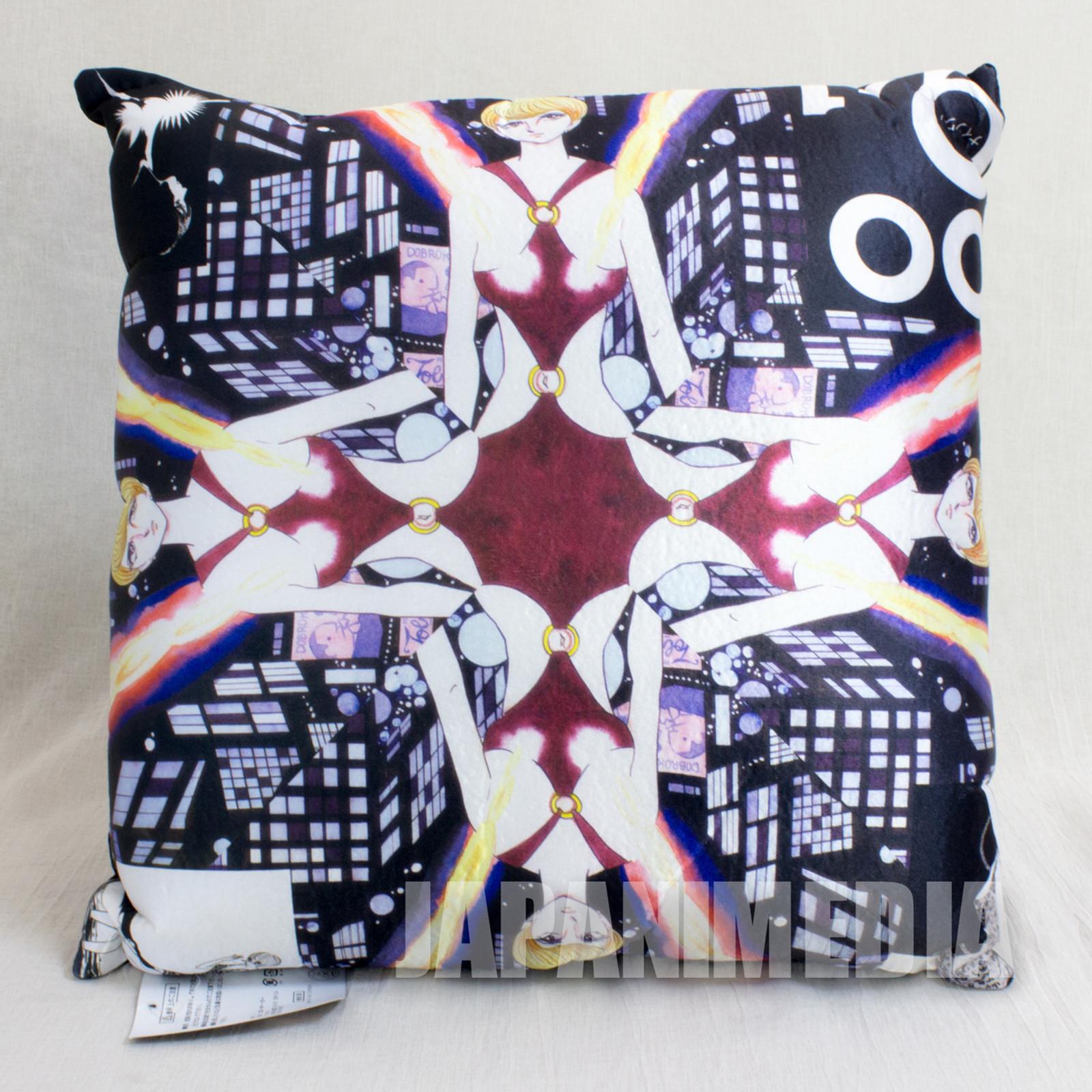 009-1 Mylene Hoffman Satin Cushion 45x45cm #2 JAPAN ANIME CYBORG ISHINOMORI