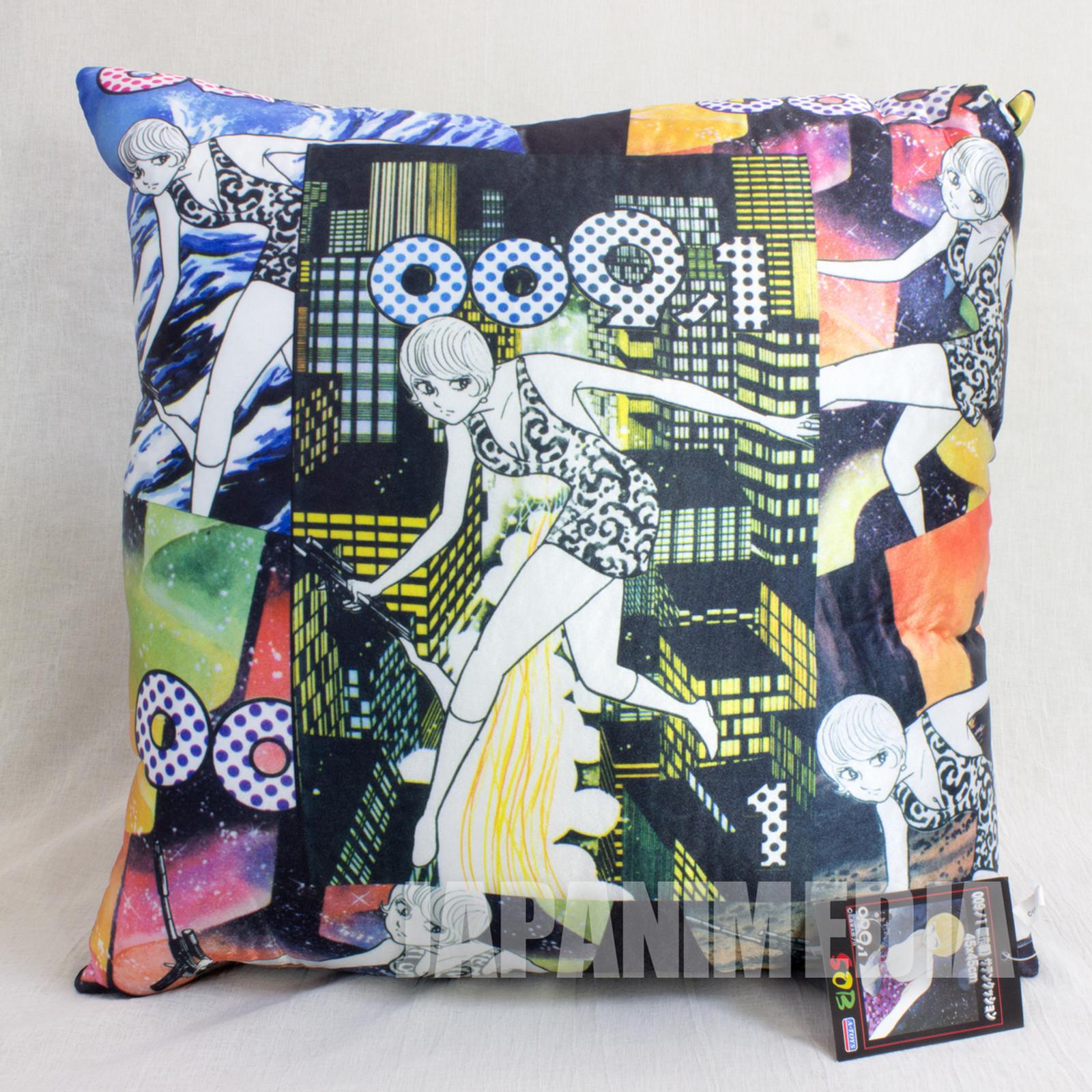 009-1 Mylene Hoffman Satin Cushion 45x45cm #3 JAPAN ANIME CYBORG ISHINOMORI