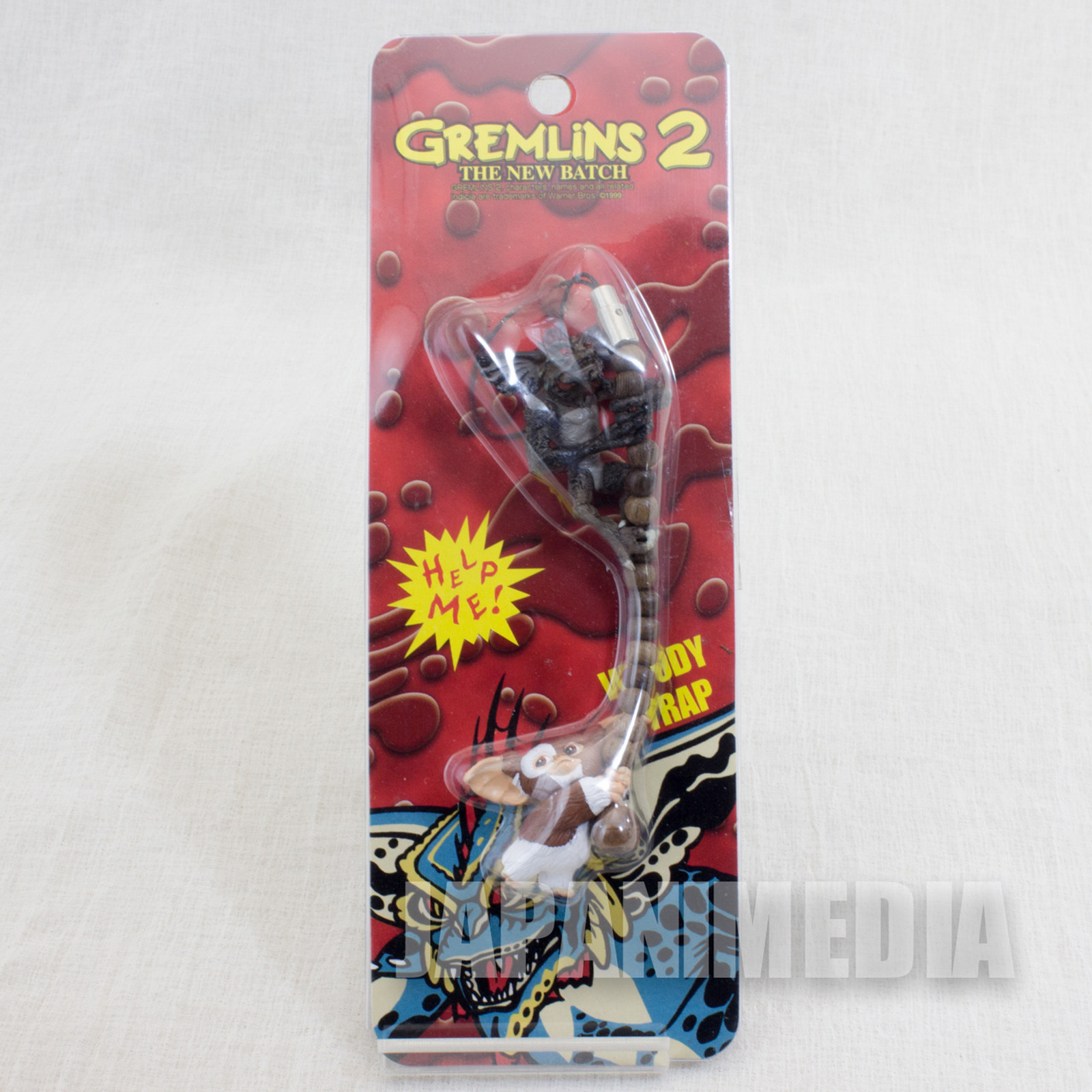 Gremlins 2 The New Batch Gizmo VS Mohawk Figure Mobile Strap Jun Planning JAPAN
