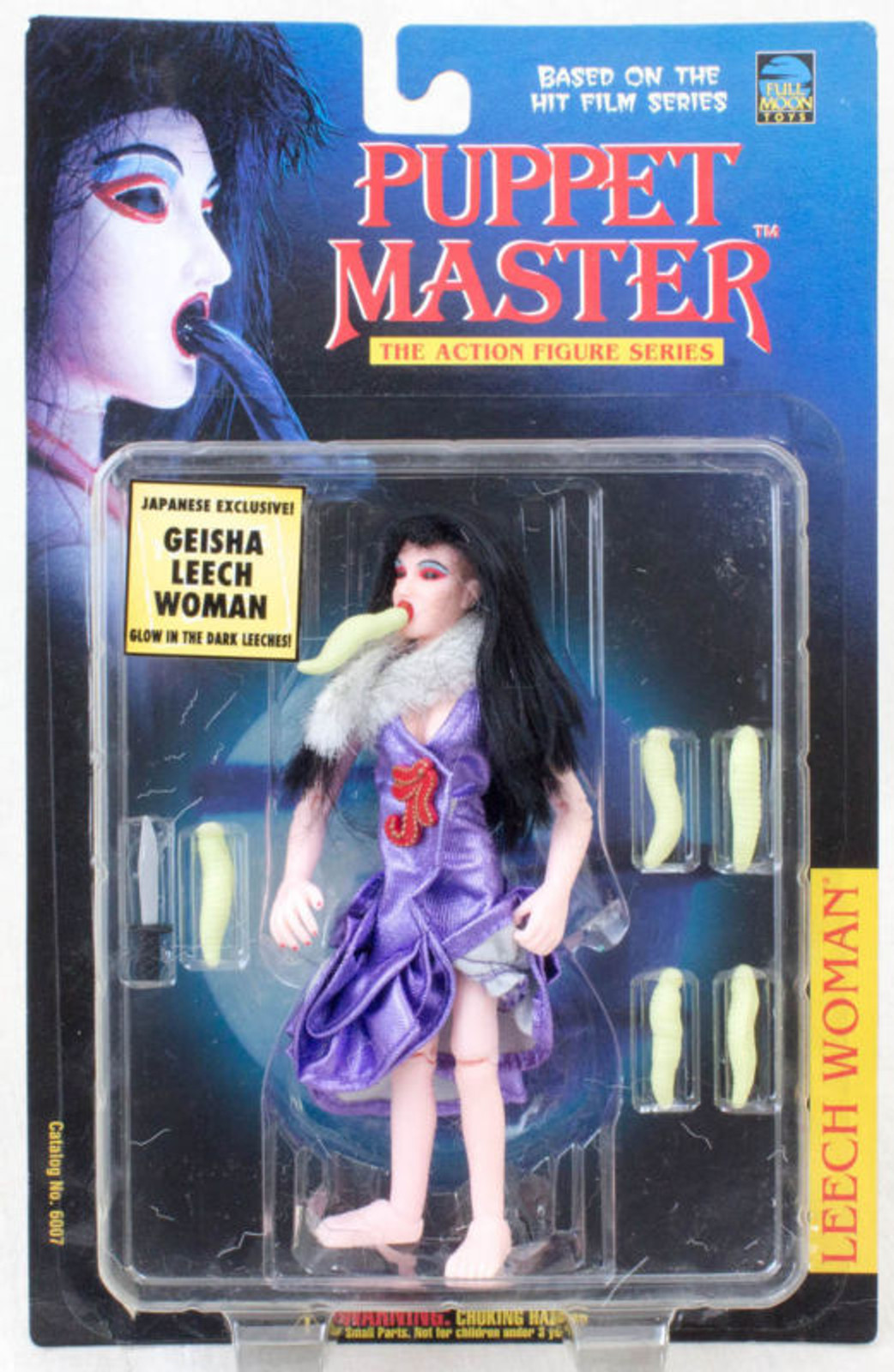 PUPPET MASTER Leech Woman Figure Purple Japanese Exclusive Geisha Full Moon Toys