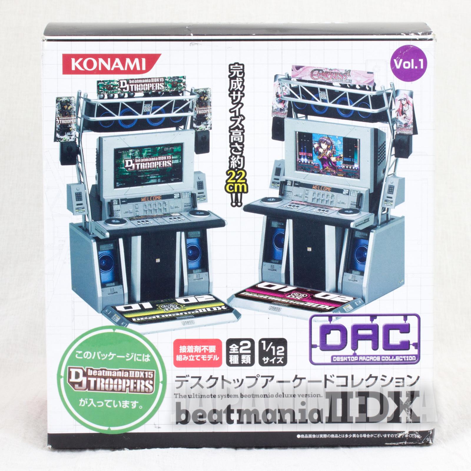 RARE!! Desktop Arcade Collection Beatmania IIDX Vol.1 1/12 Miniature Figure Konami