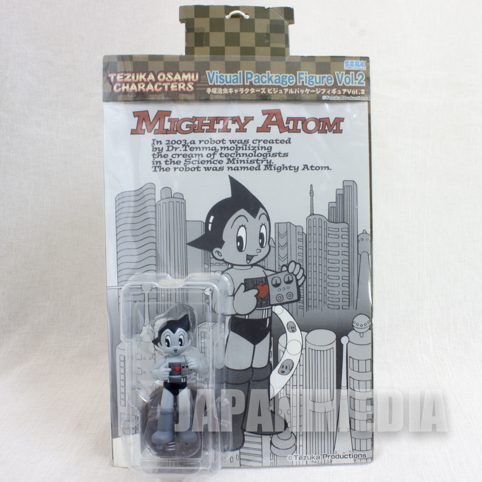 Mighty Atom Astro Boy Visual Package Figure Vol.2 Osamu Tezuka JAPAN ANIME MANGA