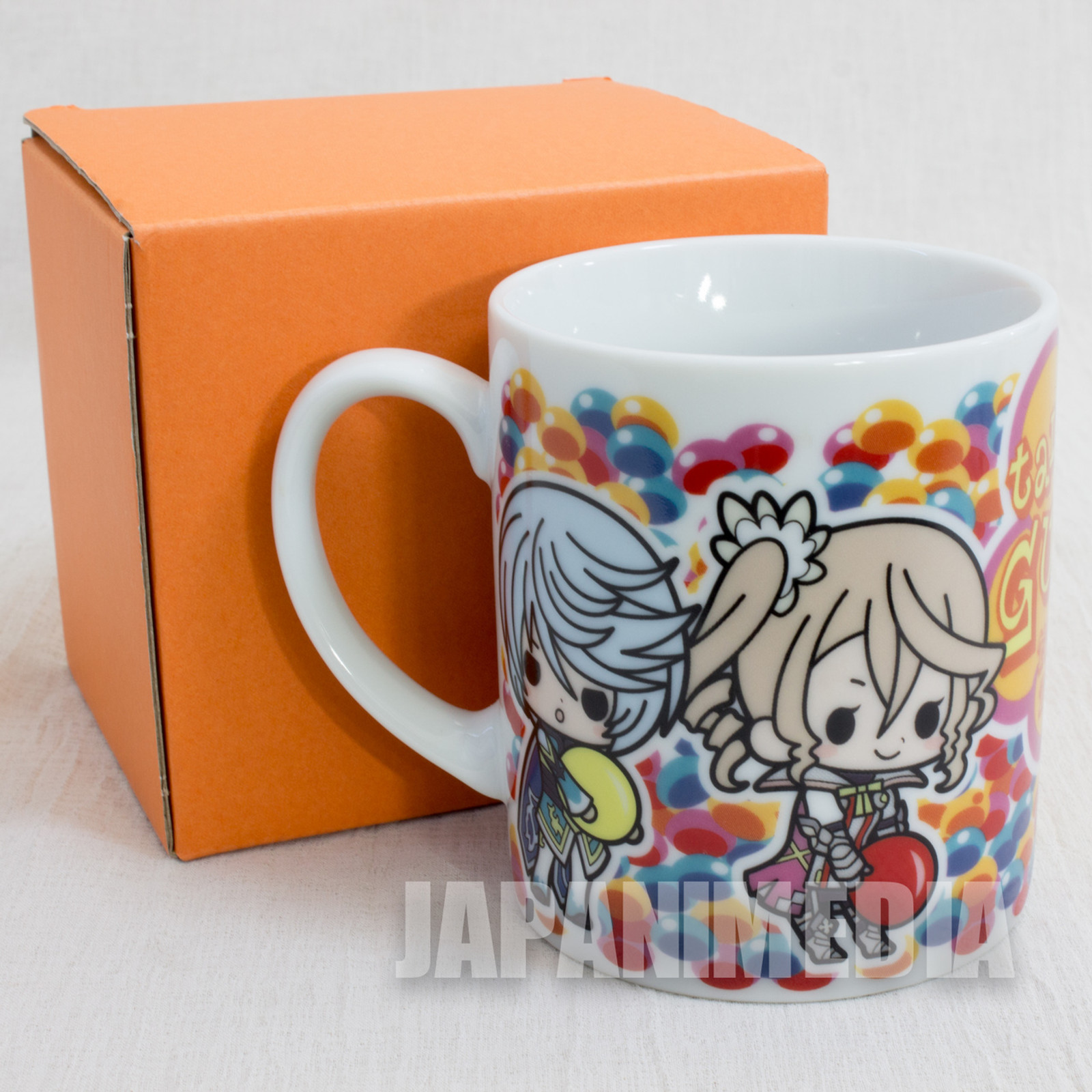 Tales of Zestiria Mug [Sorey / Alisha / Mikleo / Normin ] PS3 Famitsu DX Pack JAPAN ANIME