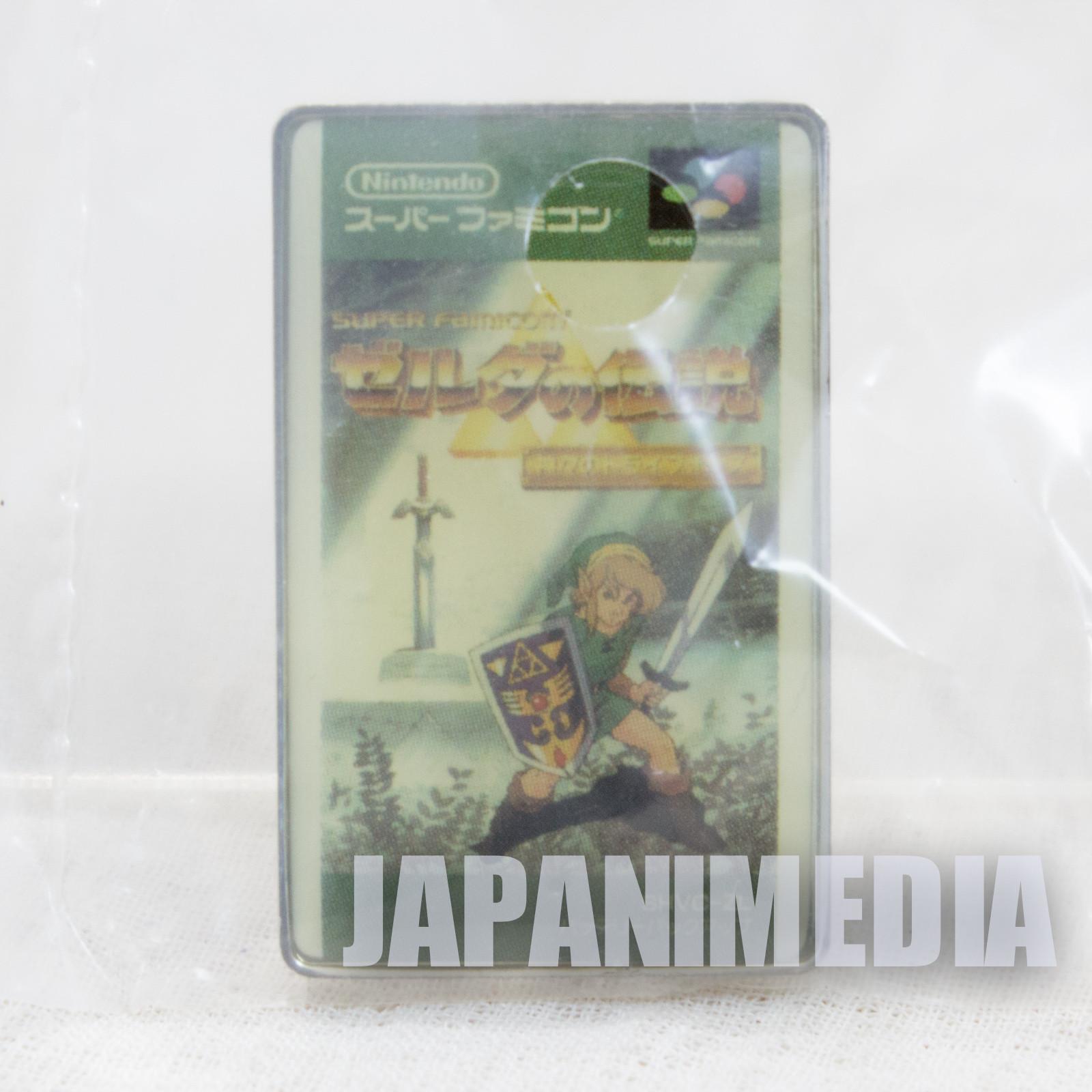 The Legend of Zelda Series Jacket Type Pins Badge 3 Nintendo JAPAN FAMICOM NES
