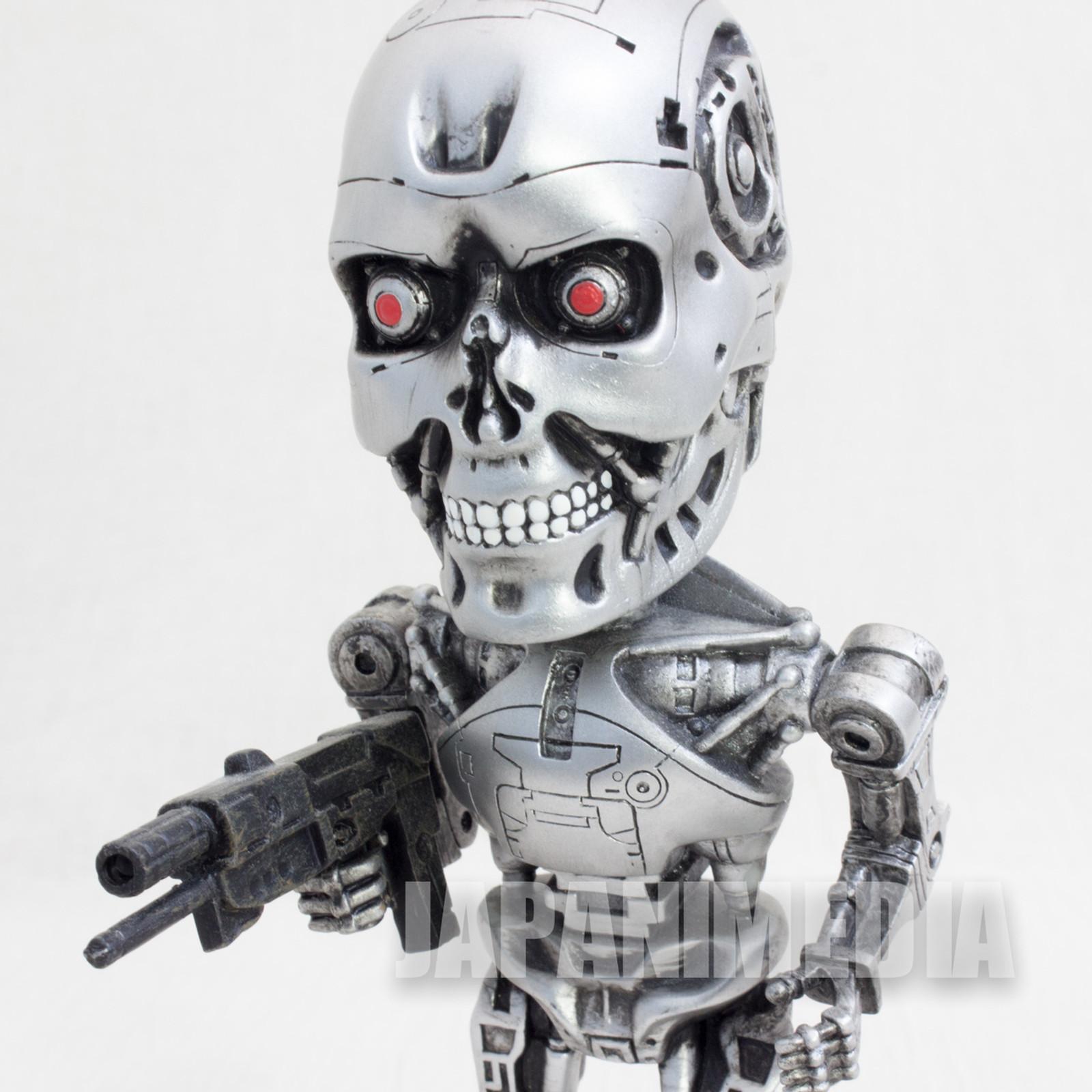 T2-3D Terminator T-800 Bobbing Head Figure USJ Universal Stuidos Japan JAPAN