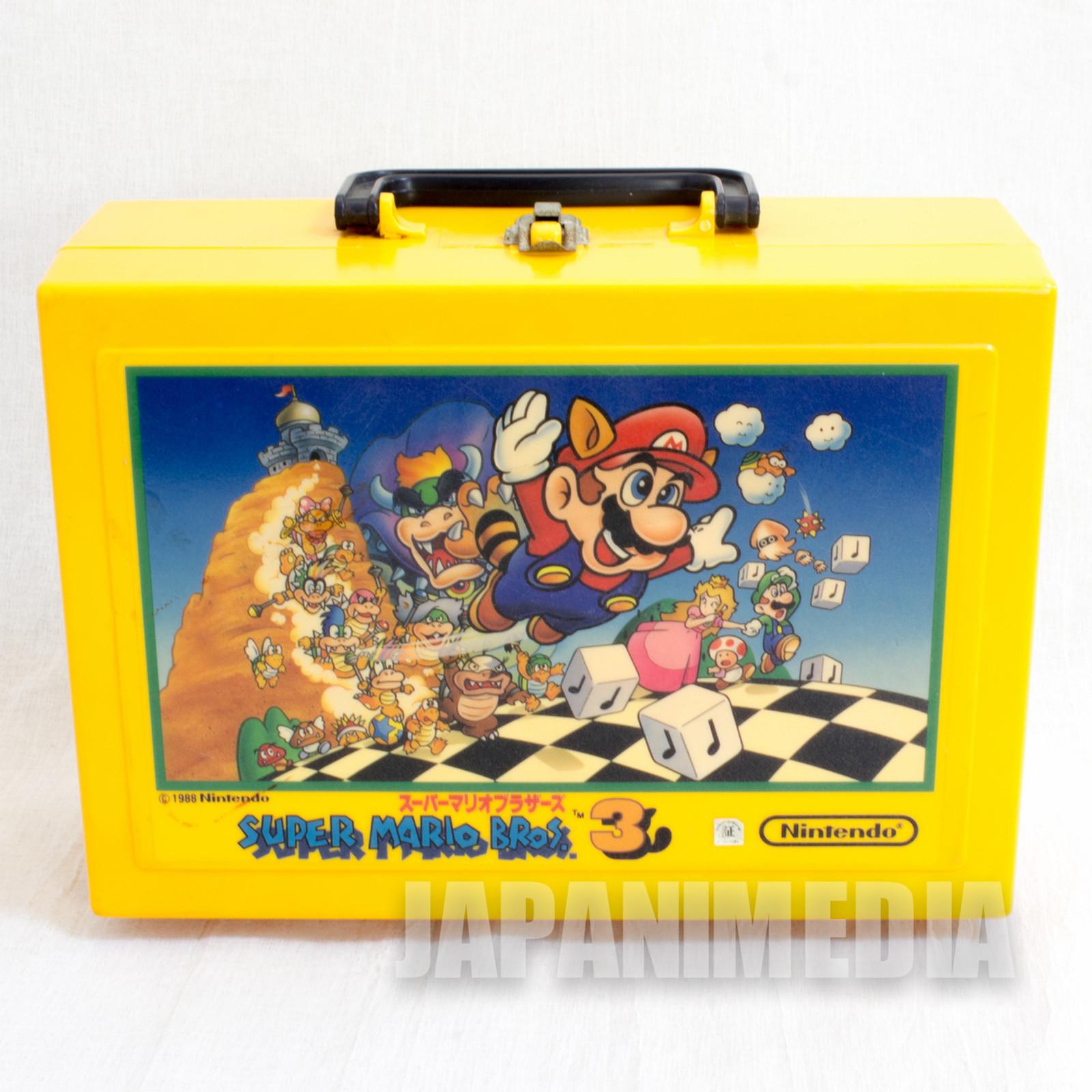 Retro RARE! Super Mario Bros. 3 Plastic Case JAPAN GAME NINTNEDO NES
