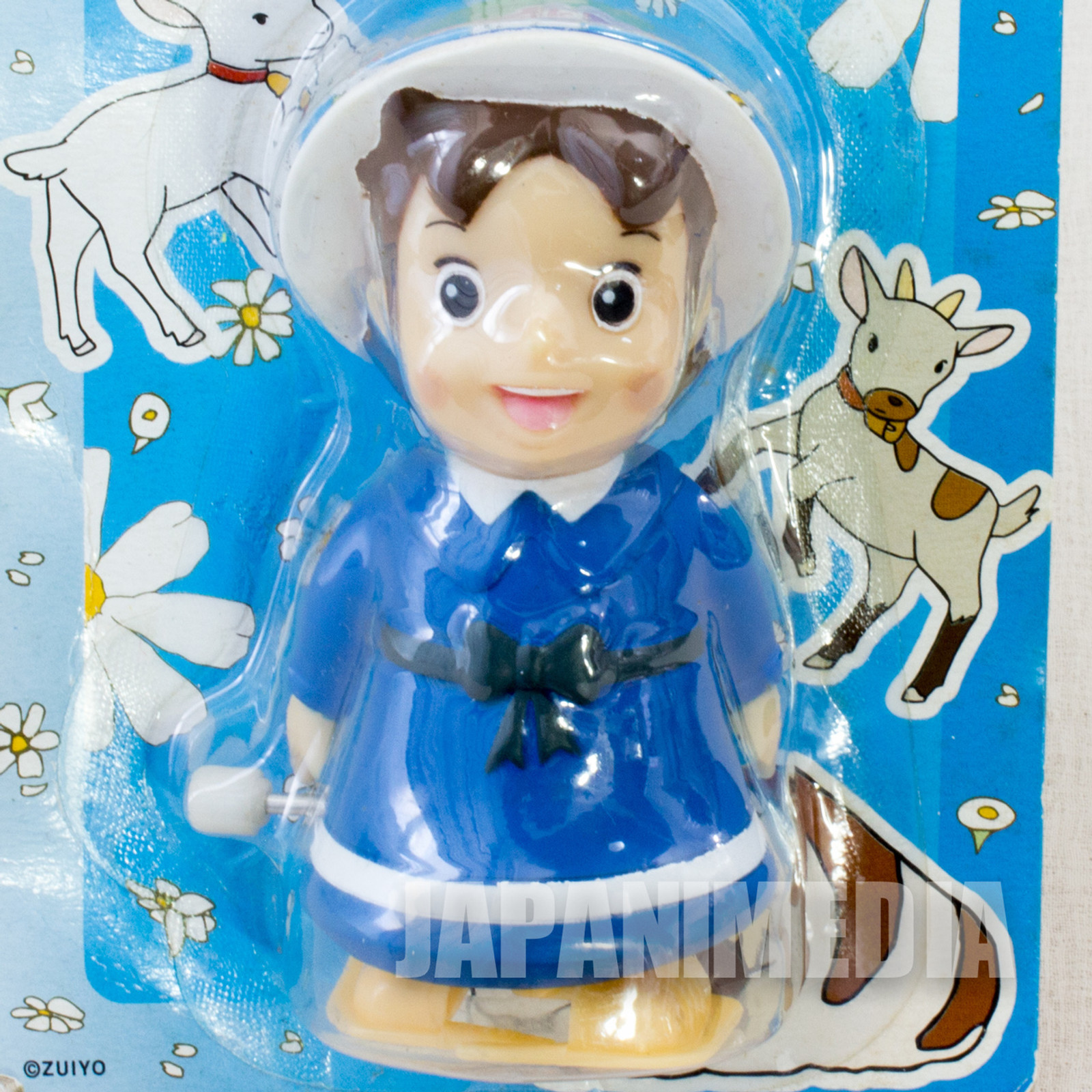 RARE Heidi Girl of the Alps Tokotoko Mascot Wind Up Figure 2 JAPAN ANIME