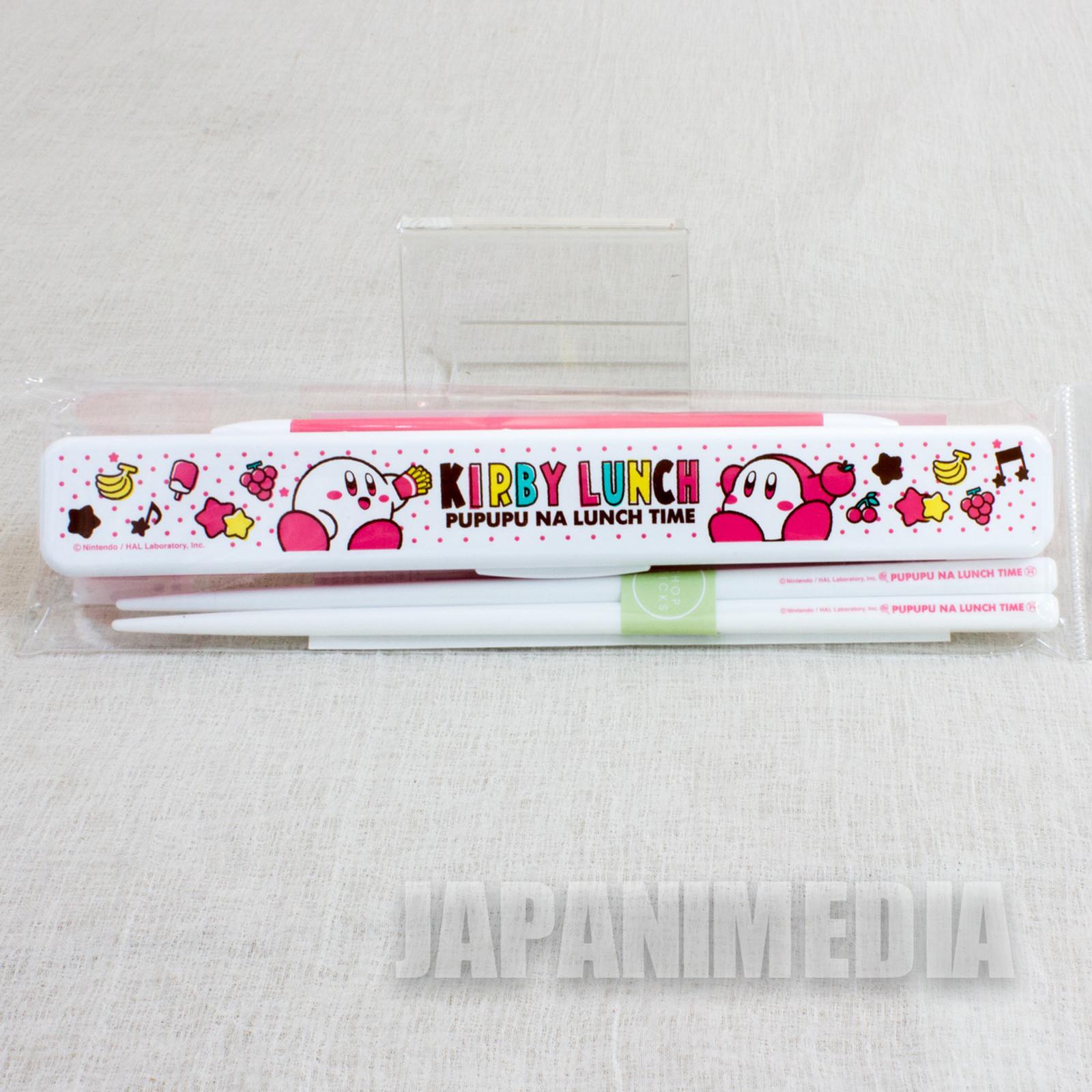 Kirby Super Star Chopsticks & Case Set JAPAN GAME