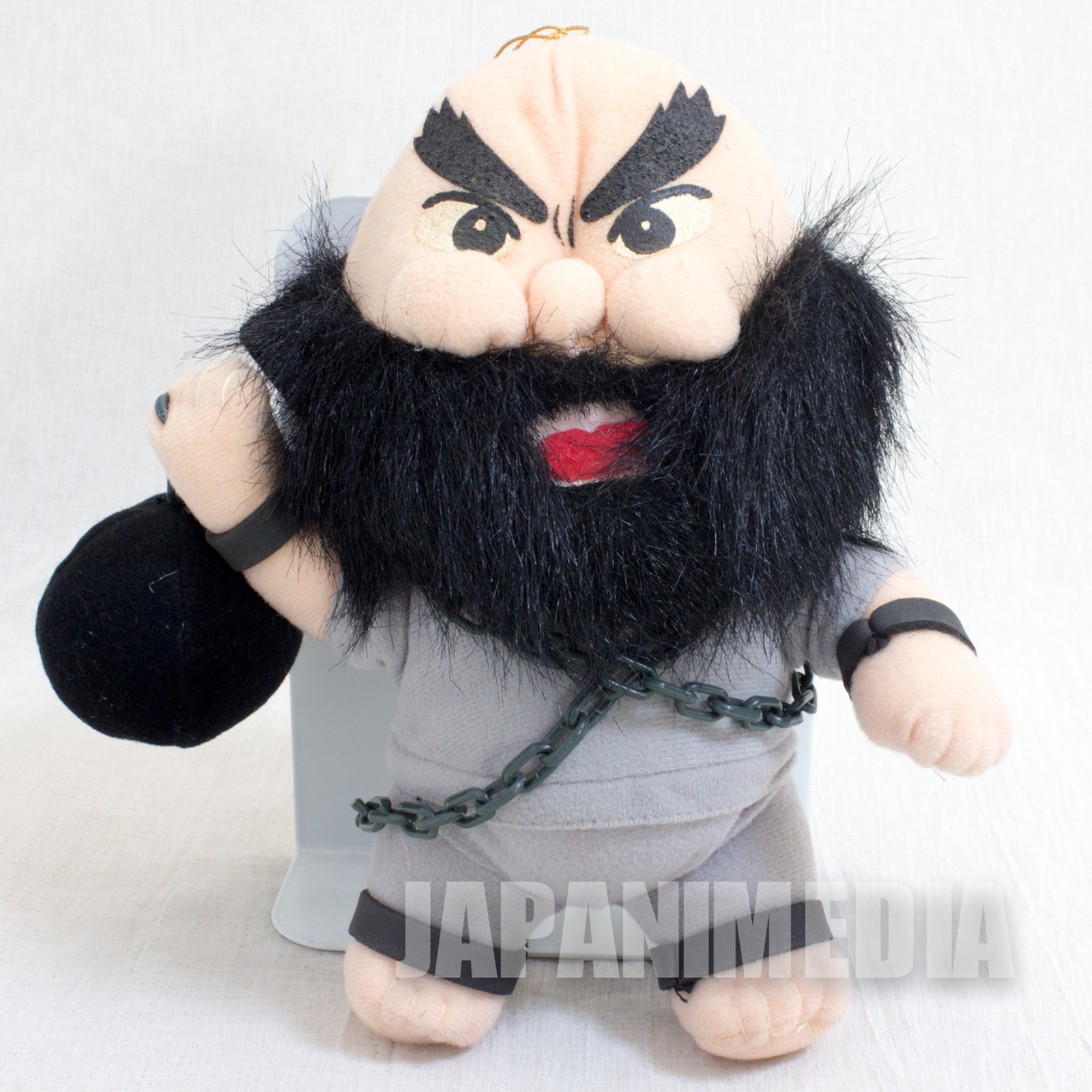 The King of Fighters '95 Chang Koehan Plush Doll JAPAN GAME
