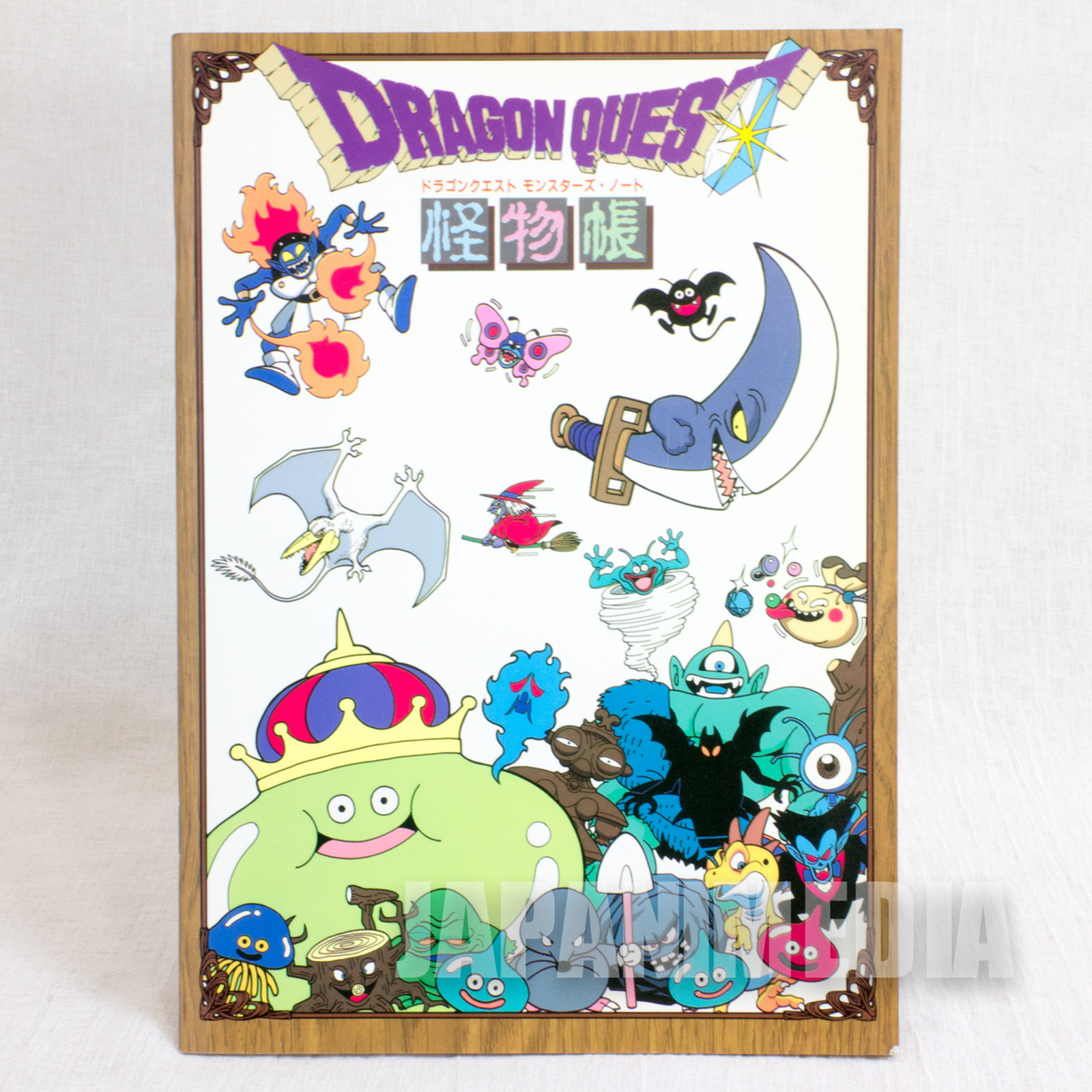 Retro Rare! Dragon Quest Monsters Notebook Showa Note JAPAN ANIME WARRIOR