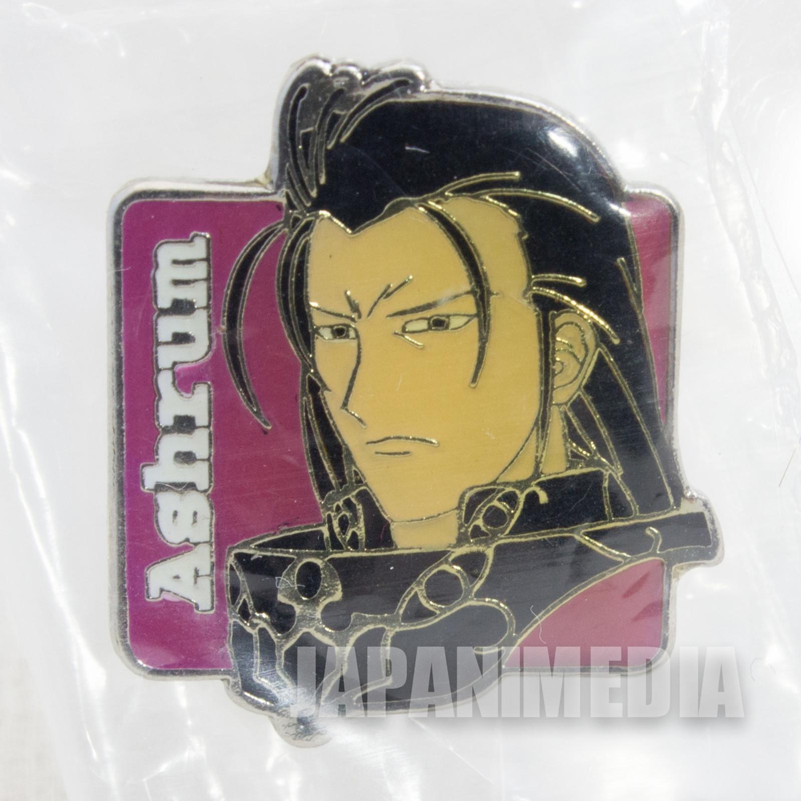 Record of Lodoss War Ashrum Metal Pins JAPAN ANIME MANGA