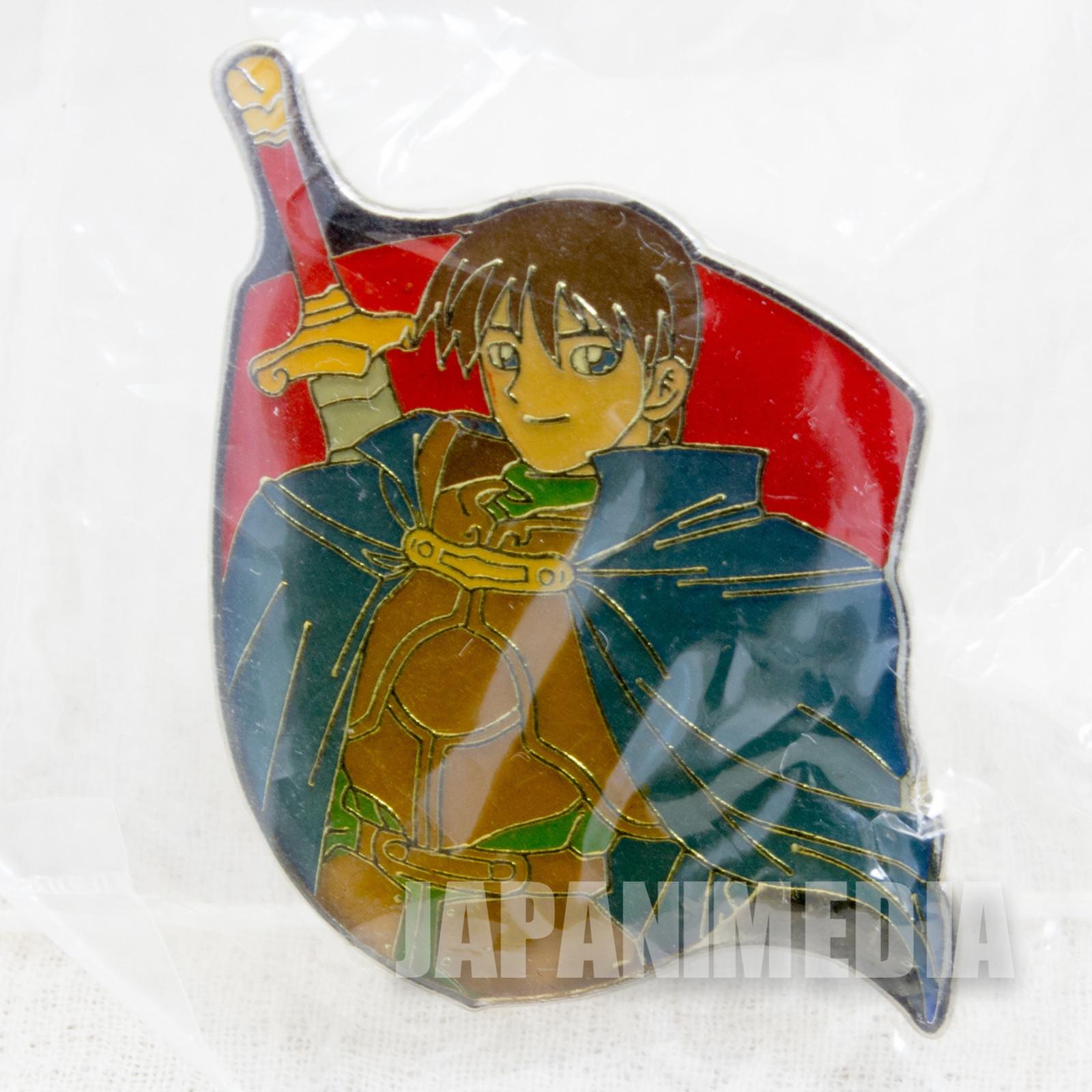 Record of Lodoss War Parn #2 Metal Pins JAPAN ANIME MANGA