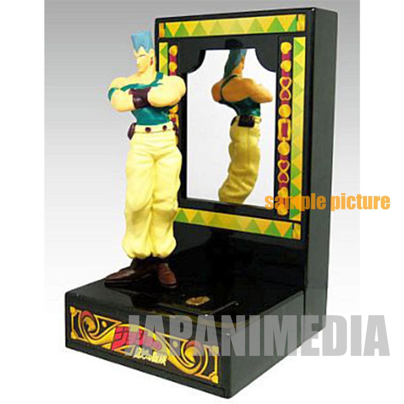Jojo's Bizarre Adventure Polnareff Mirror & Figure JAPAN ANIME