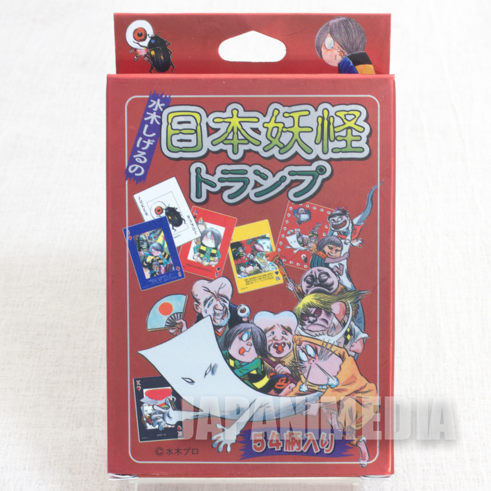 GeGeGe no Kitaro Japanese Yokai Playing Card JAPAN ANIME MANGA