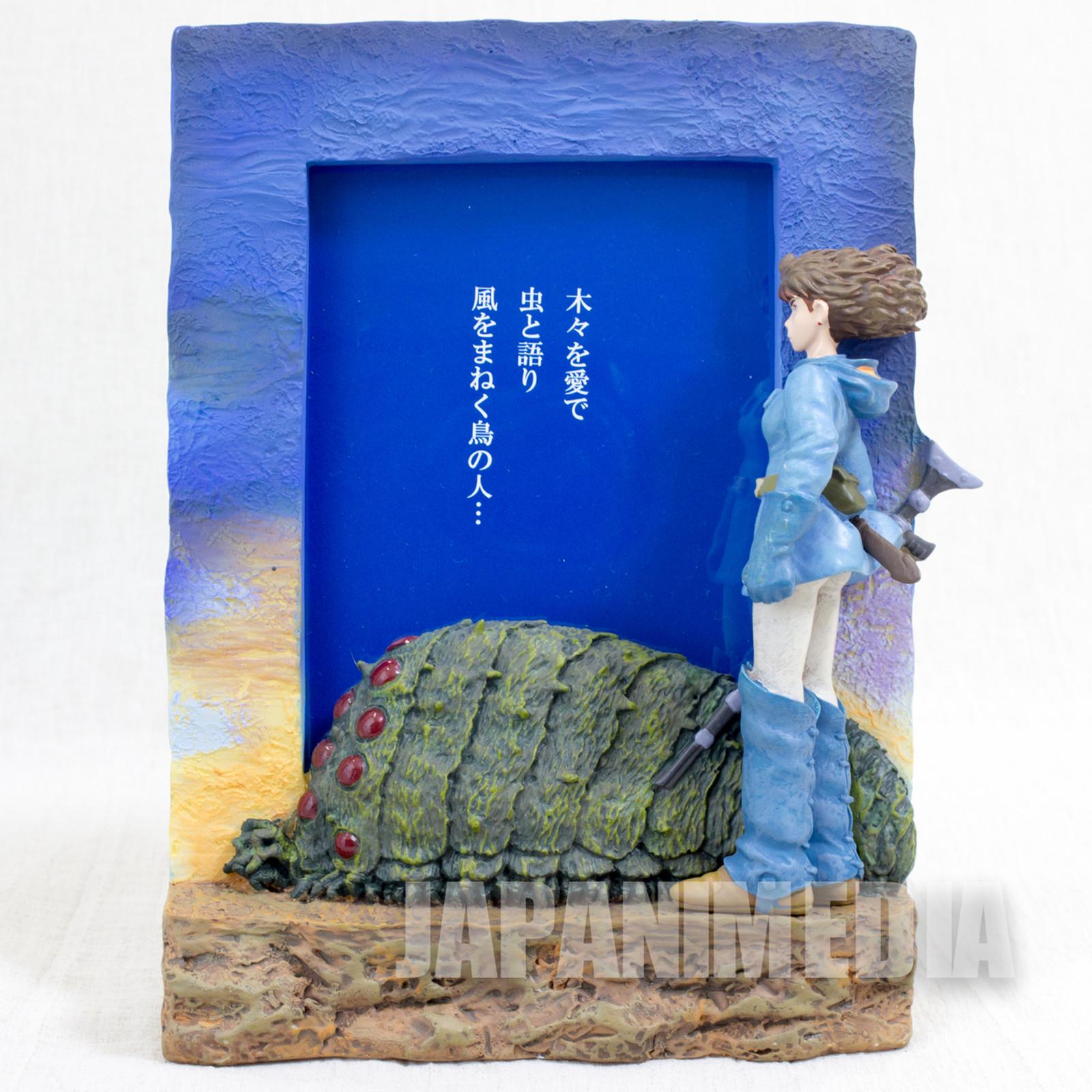 Nausicaa of the Valley Polystone Photo Frame Stand Ghibli JAPAN ANIME