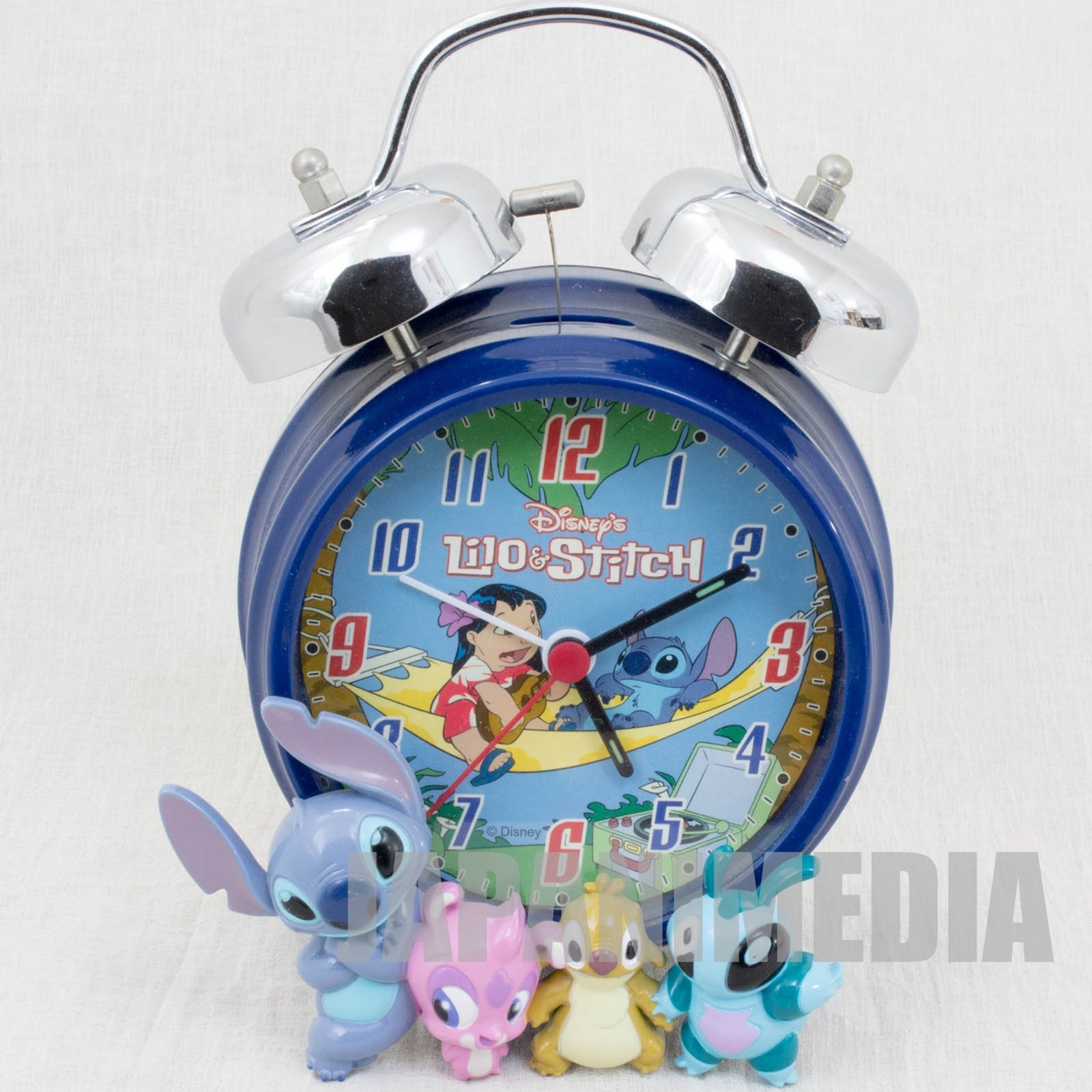Stitch Alarm Clock Disney JAPAN ANIME